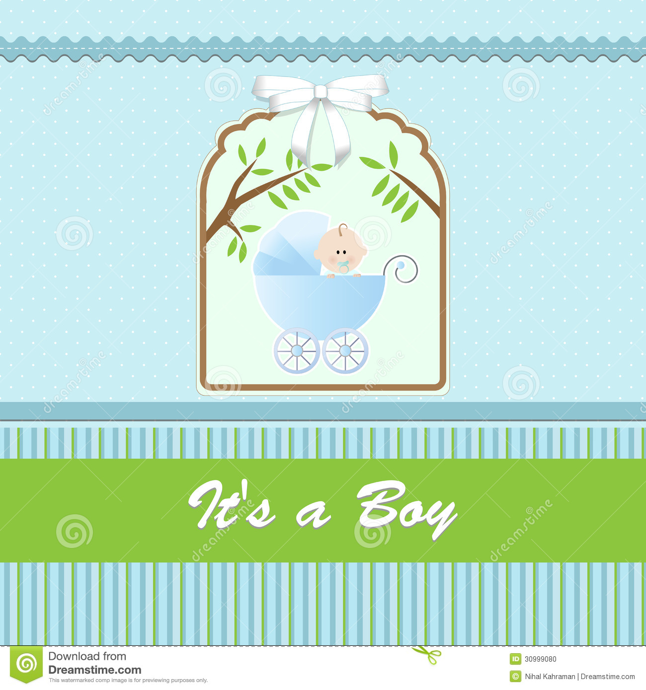 Baby boy background wallpaper baby boy background images baby boy - Baby Shower Card For Baby Boy With Stroller And Blue Green Background Stock