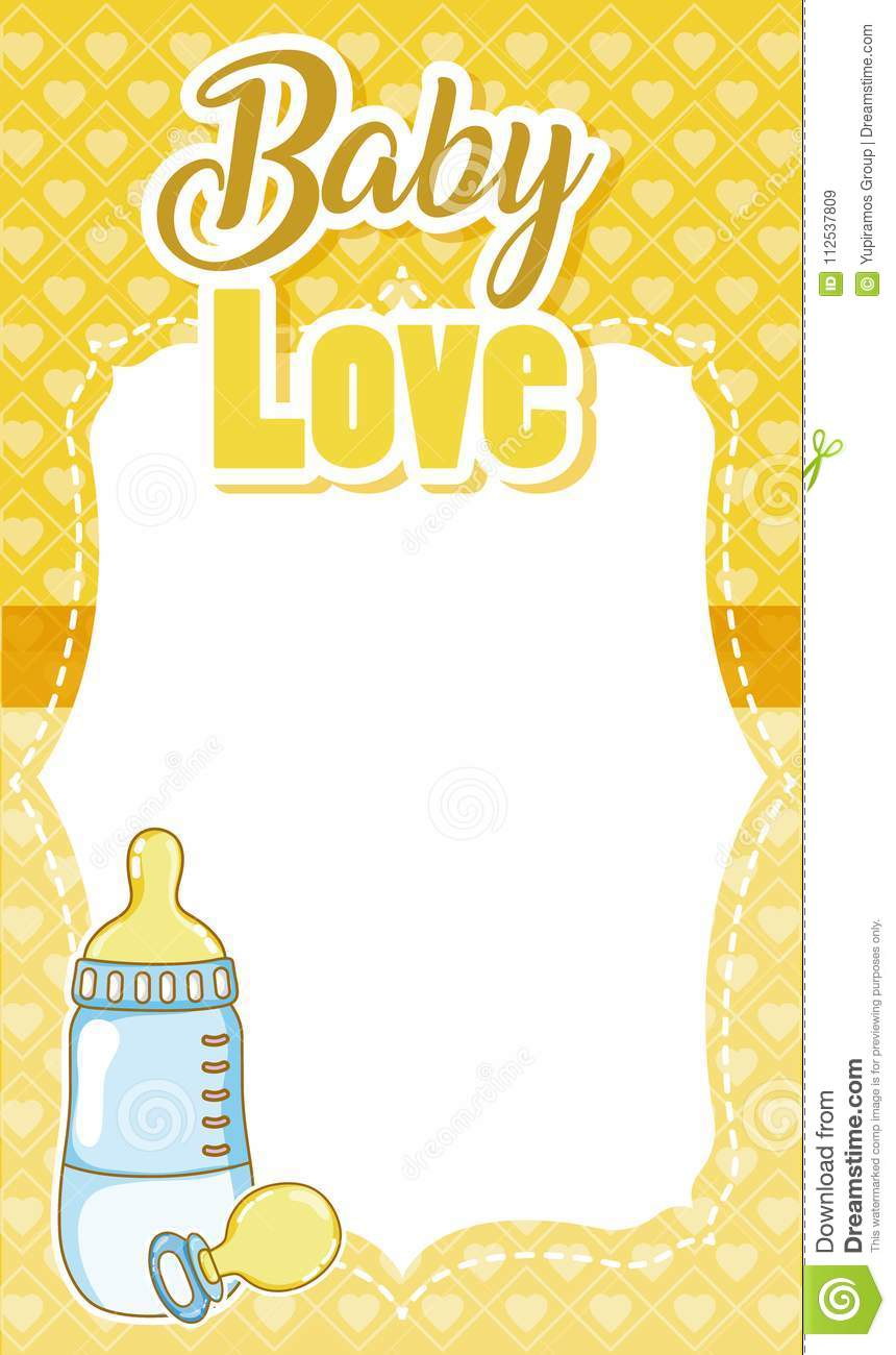 baby shower card - Baby Shower Card Note