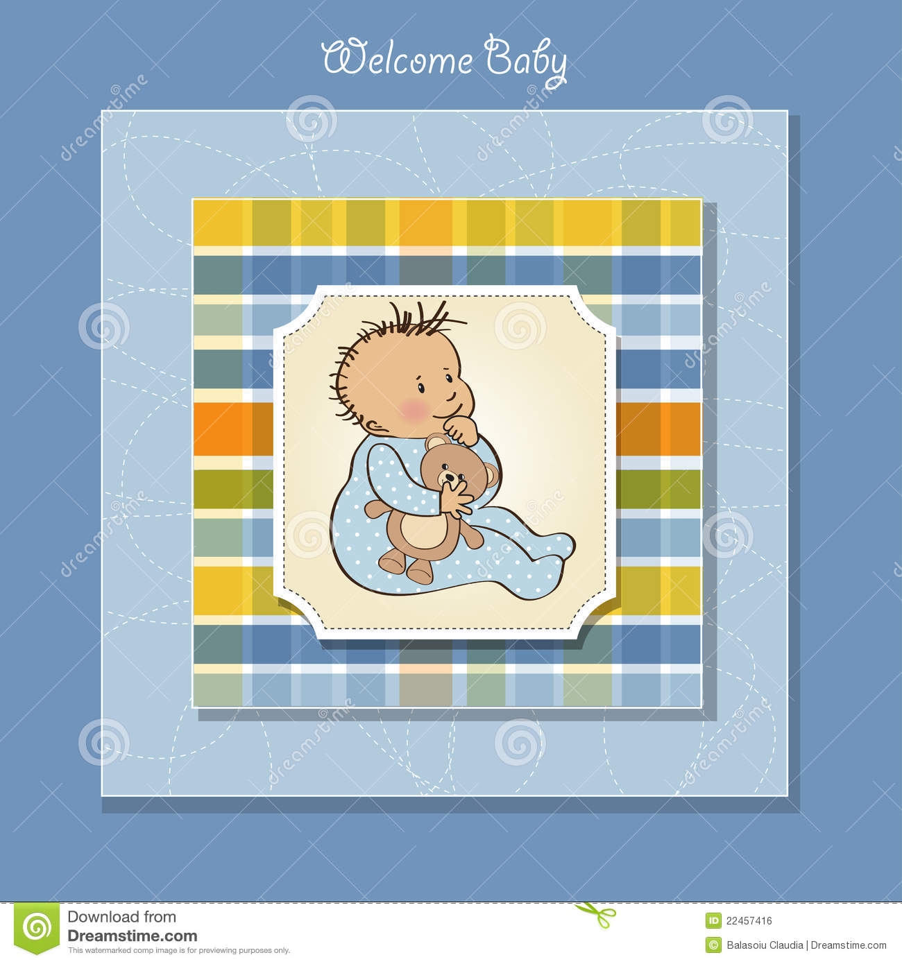 Free Baby Boy Shower Cards
