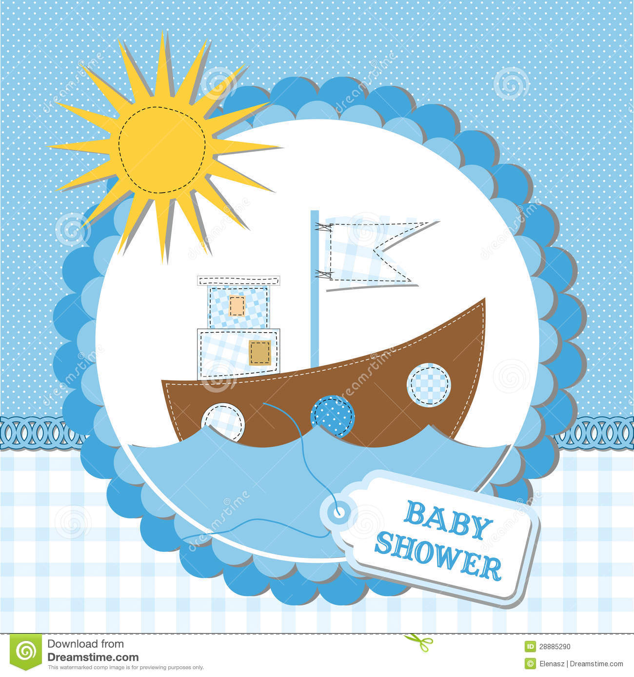 brunito shower card baby - photo #32