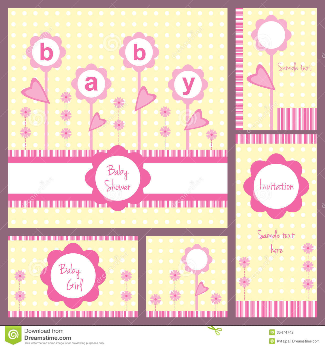 Baby Shower Invitation Cards For Girls as nice invitations design