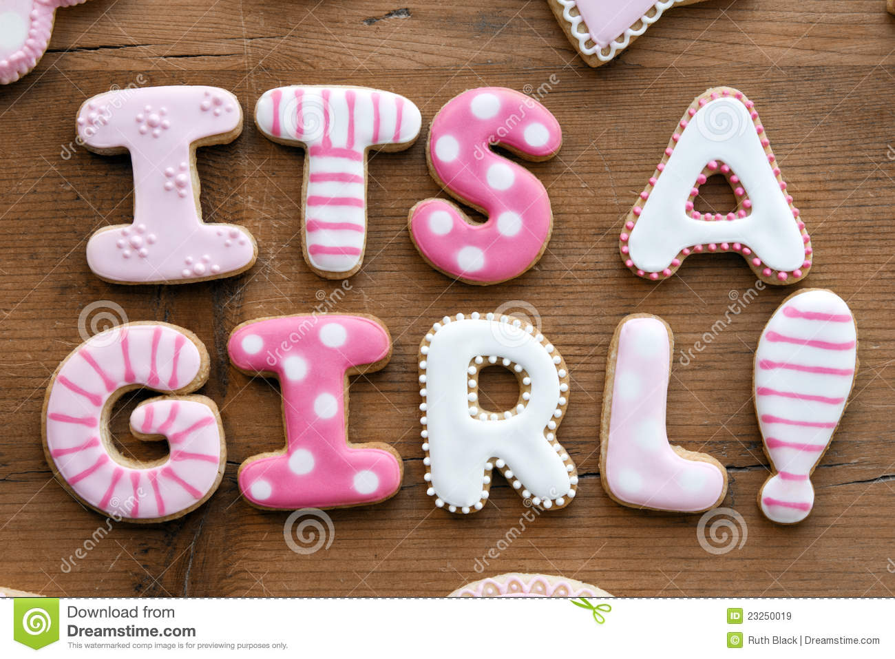 baby shower cookies royalty free stock images image 23250019