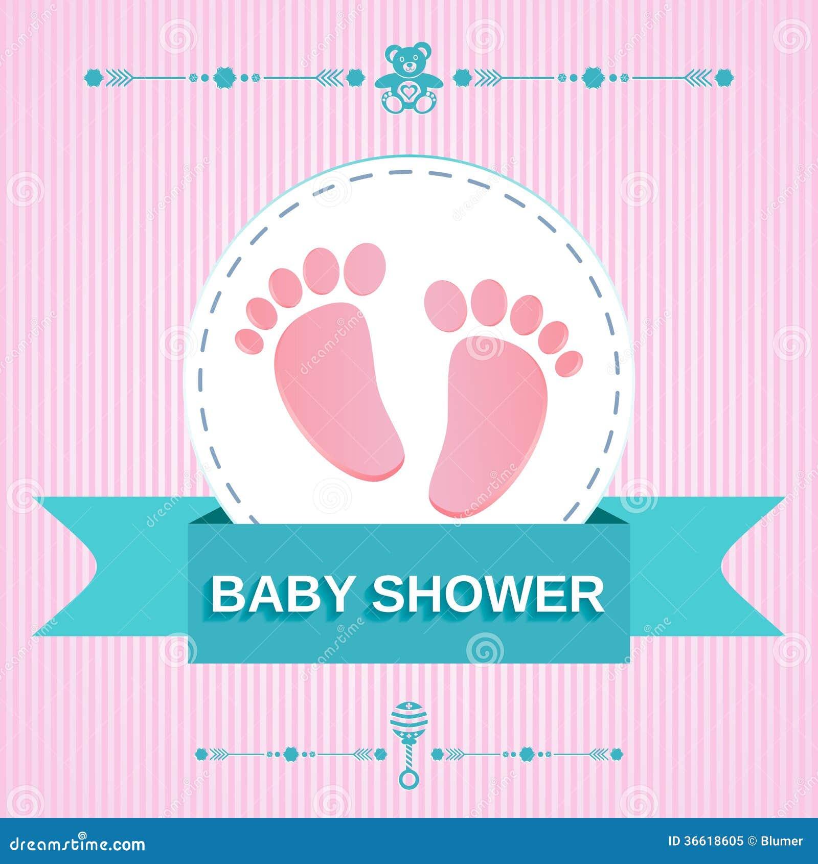Baby shower design royalty free stock photo image 36618605 - Photo baby shower ...