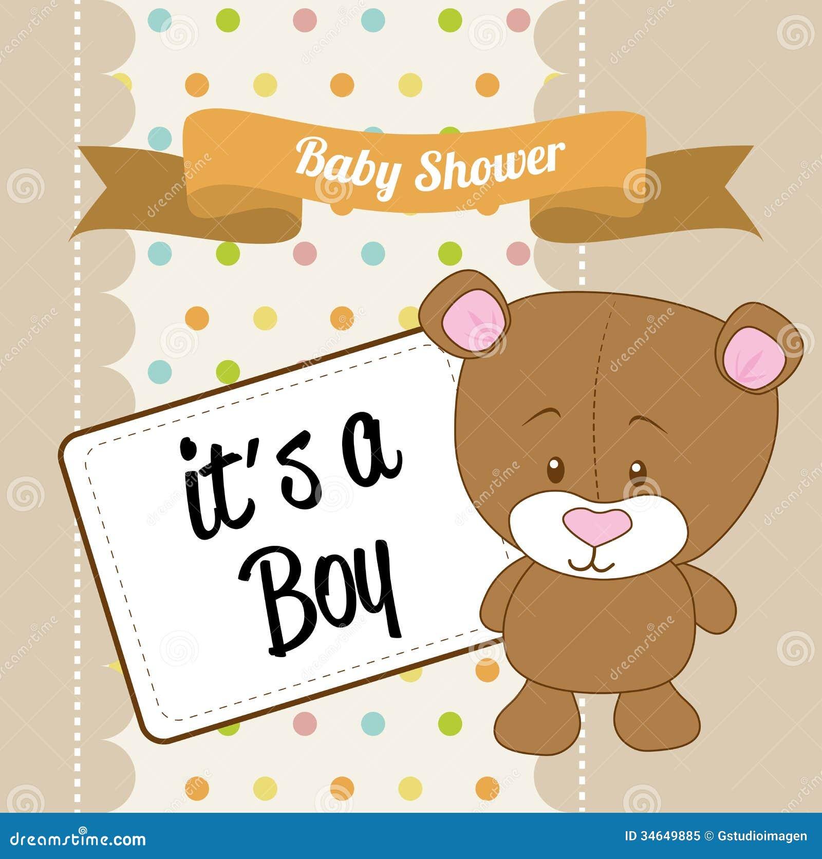 baby shower design royalty free stock photo image 34649885