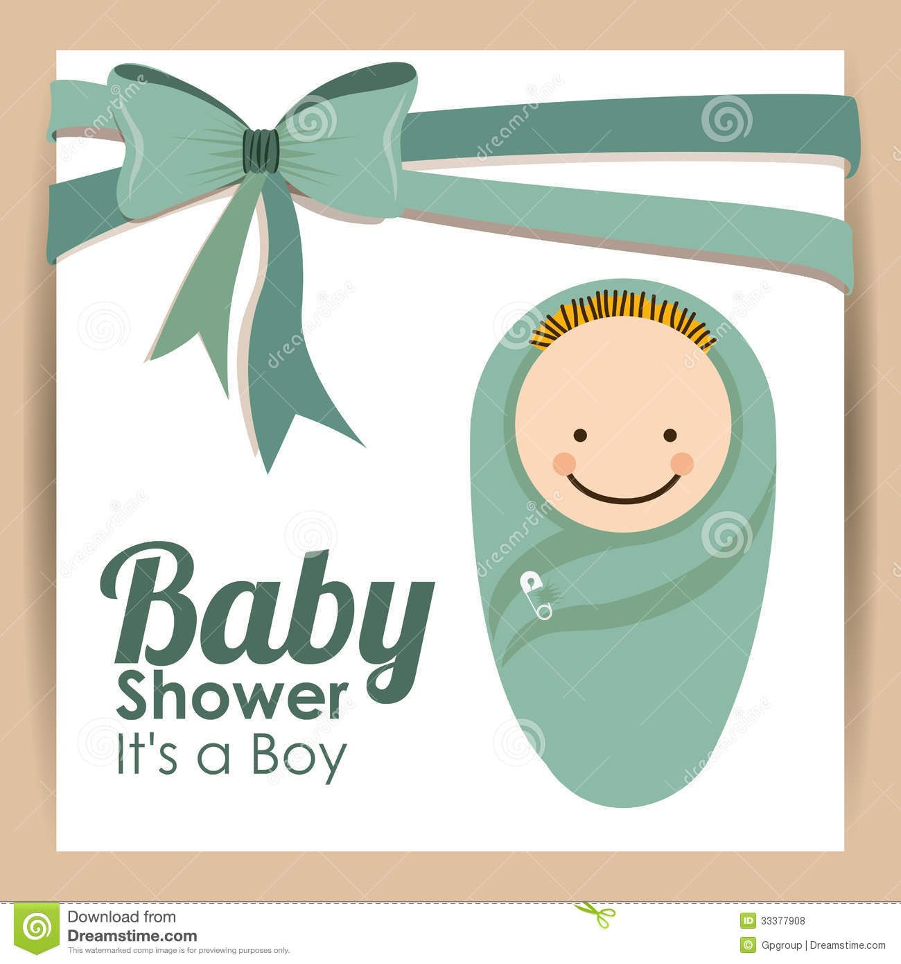 baby shower design royalty free stock photos image 33377908