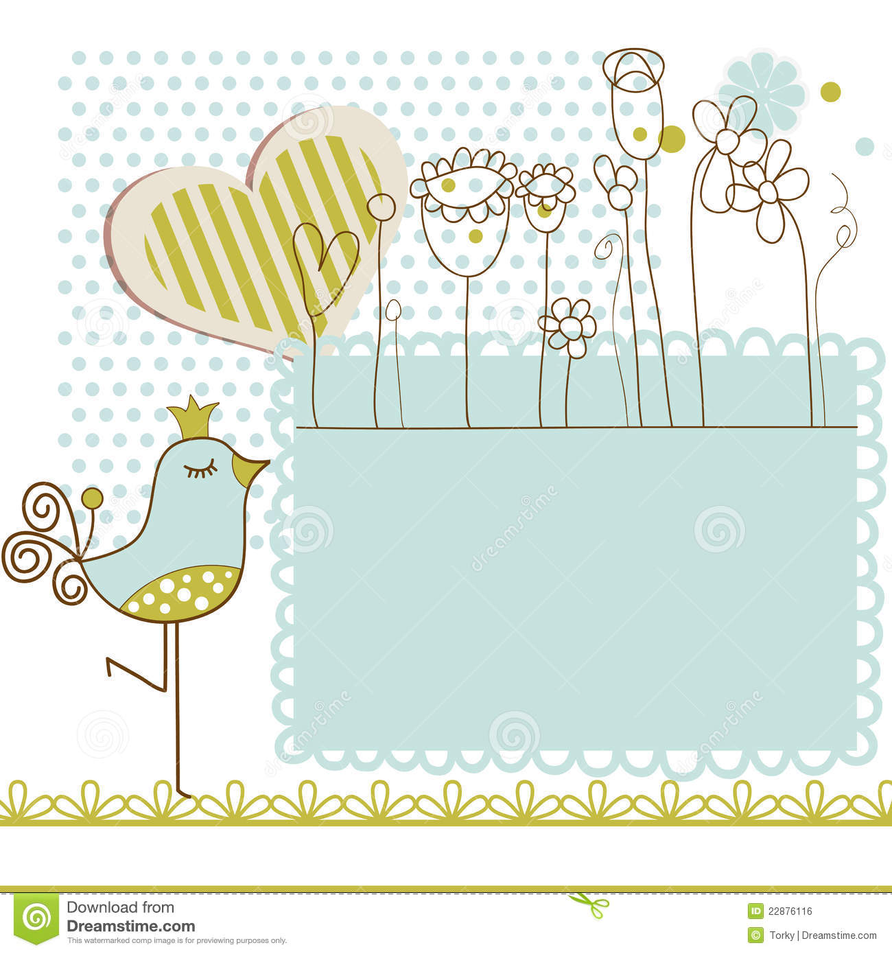 Royalty Free Stock Photo. Download Baby Shower With Frame ...