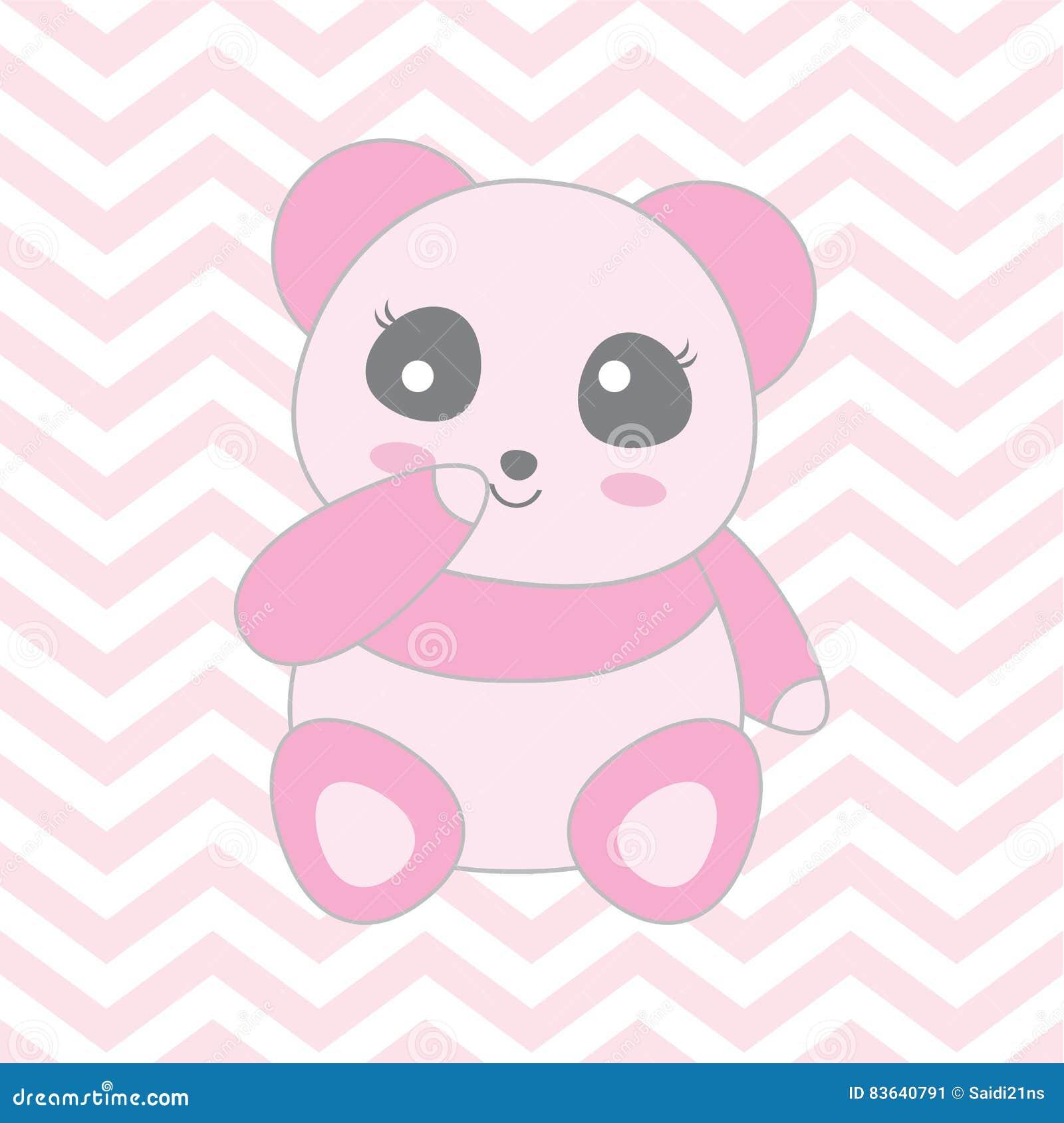 Galeri Gambar Kartun Panda Pink  af4d8091ea
