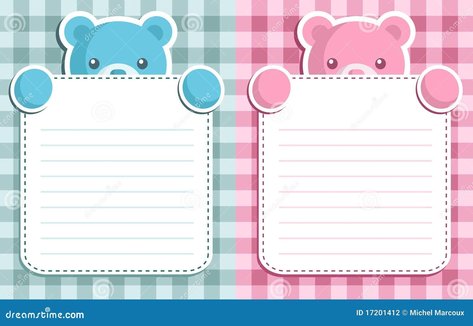 Baby Shower Invitation Stock Photography - Image: 17201412