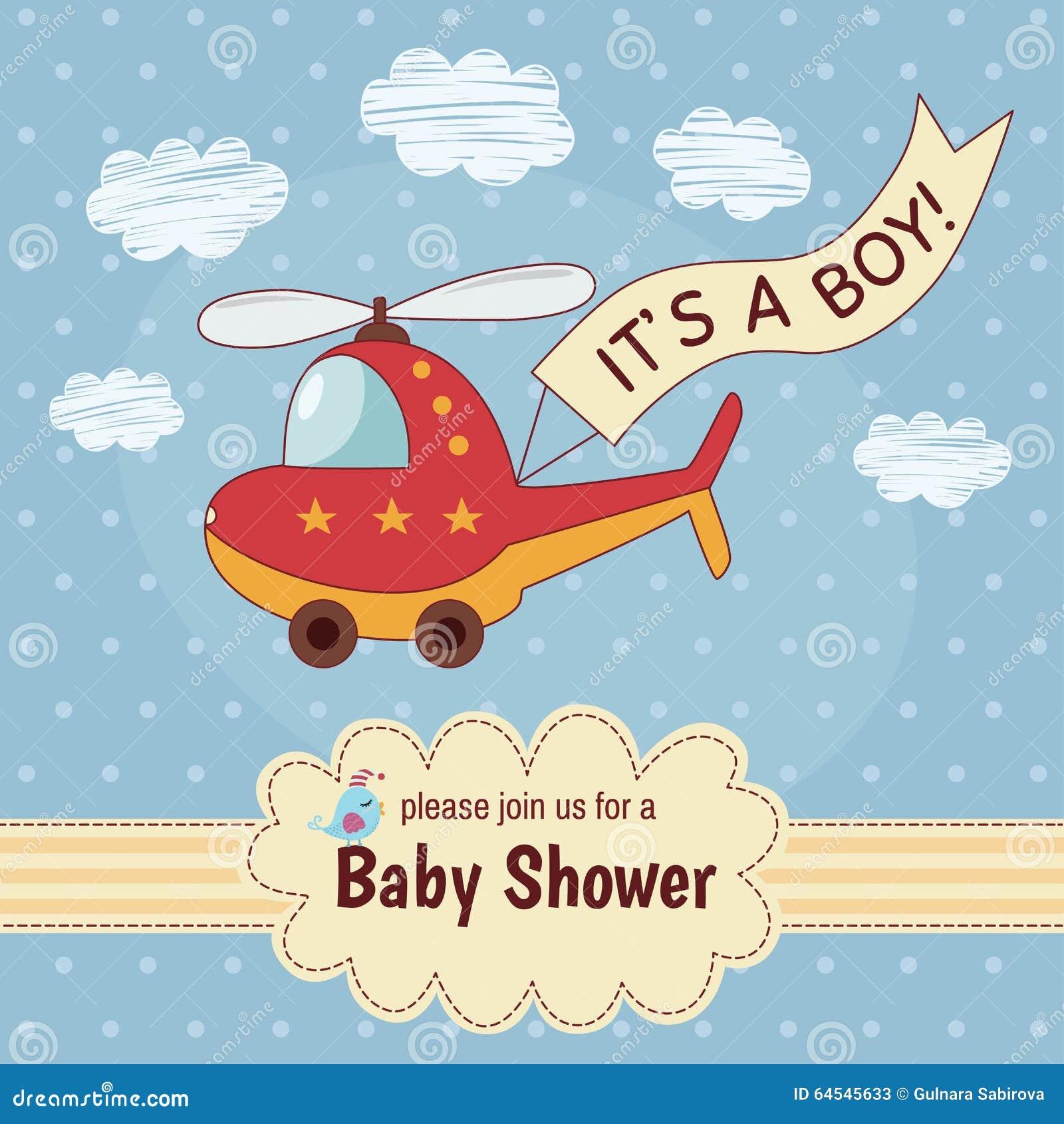 baby shower invitation card it u0026 39 s a boy with a cute
