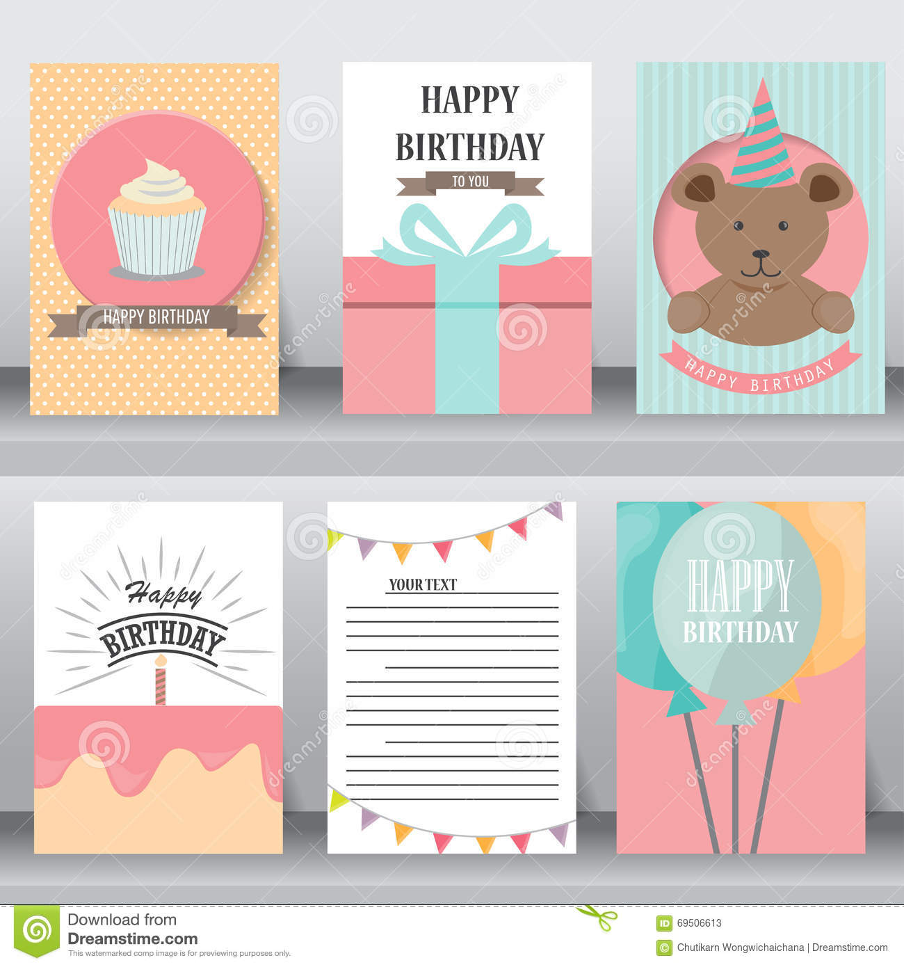 Gift Box Baby Shower Invitations : Baby shower invitation card vector stock image