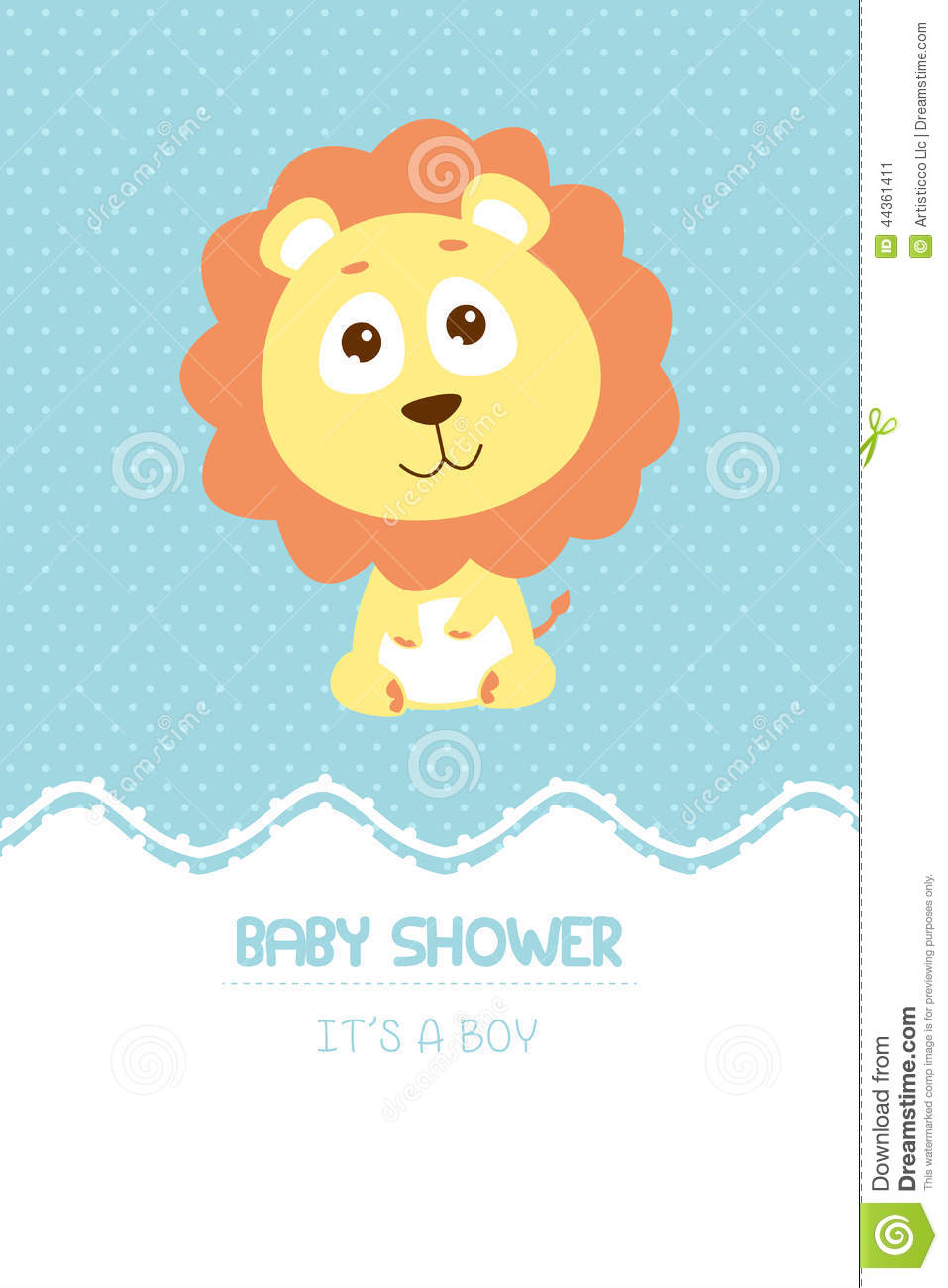 Baby shower invitation card stock vector illustration of clipart baby shower invitation card filmwisefo