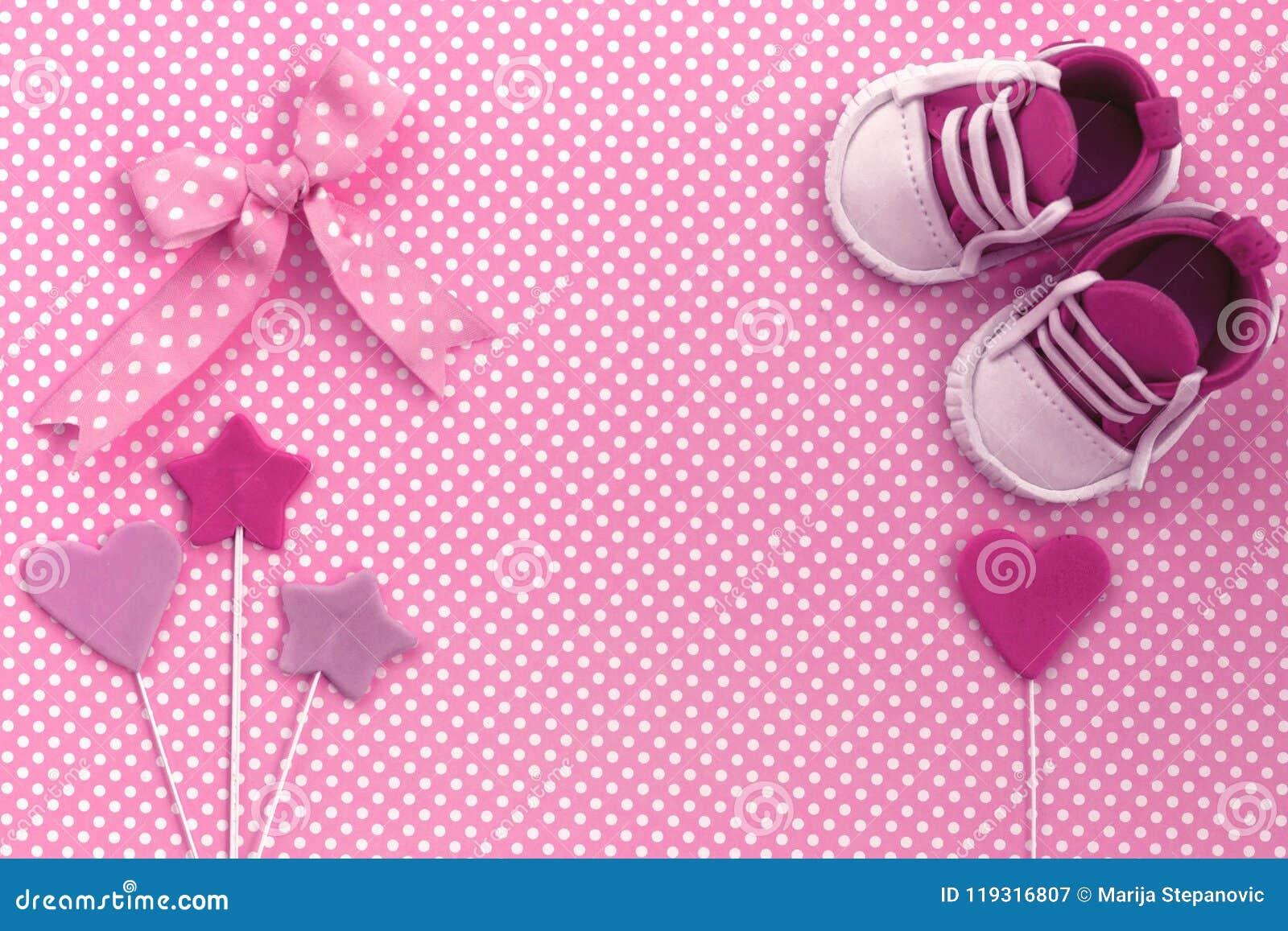 baby shower invitation  newborn background stock image