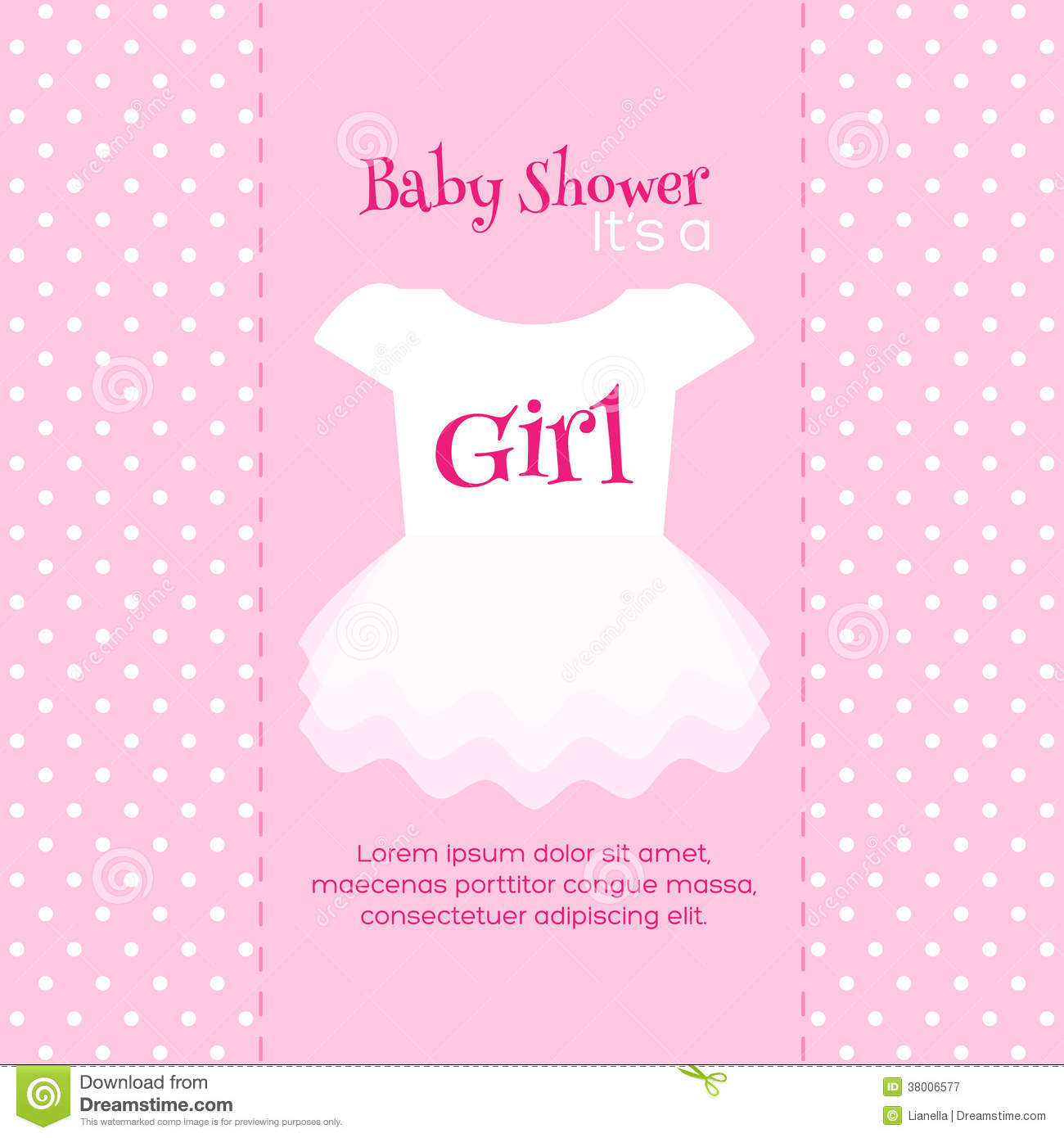 Baby Shower Invitation Template Royalty Free Stock Photography  Free Downloadable Baby Shower Invitations Templates