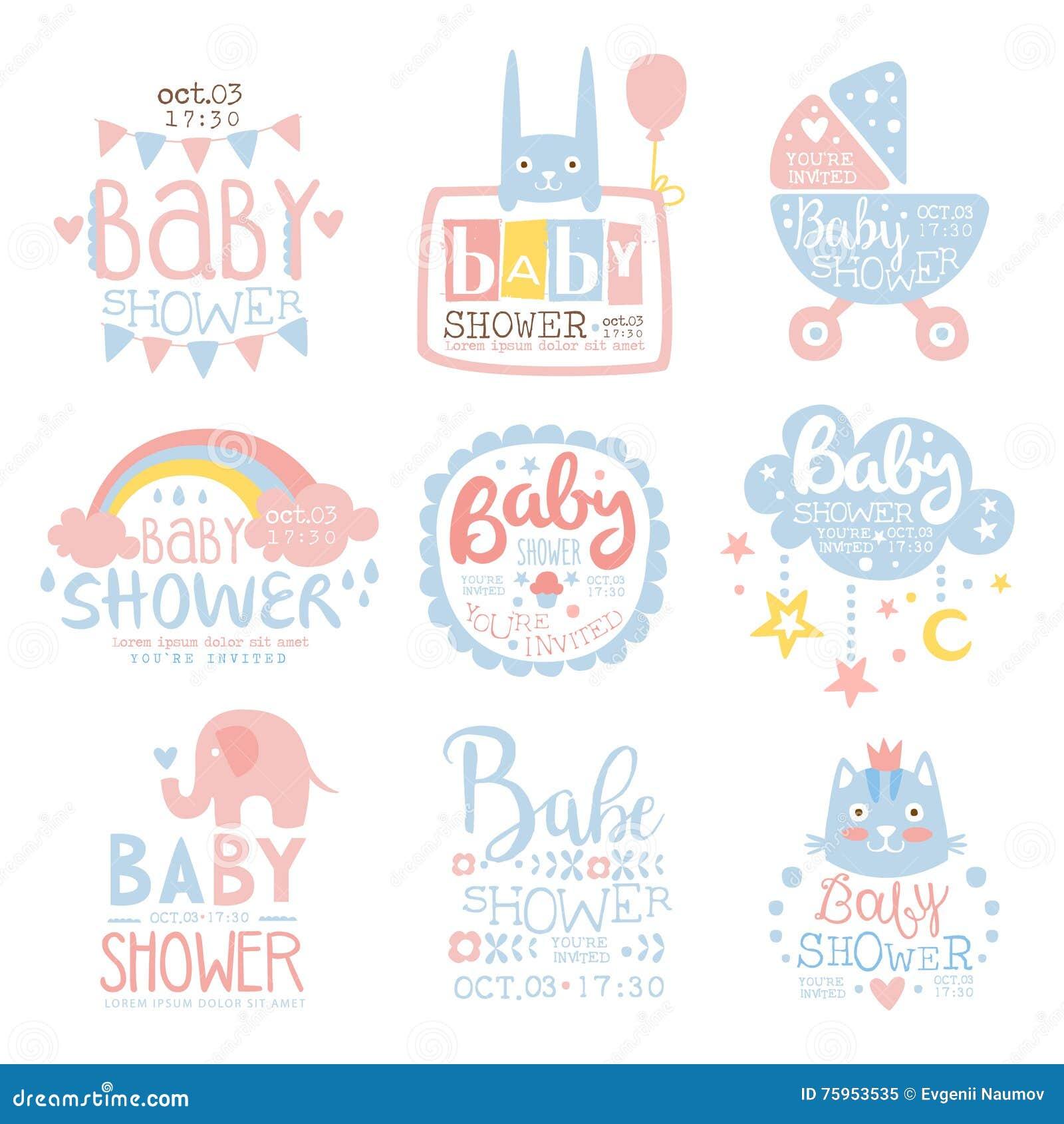 Postcard Baby Shower Invitations – gangcraft.net