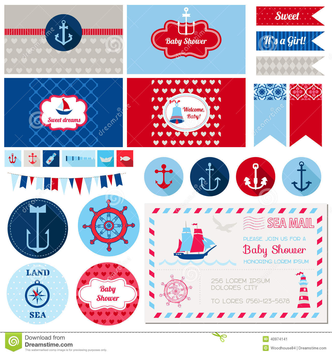Baby Shower Nautical Theme Invitations for great invitations layout