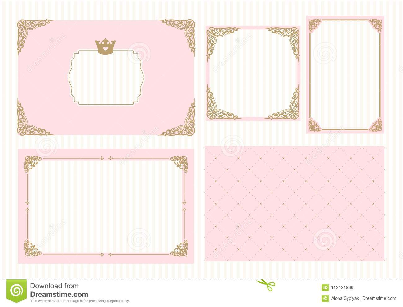 Baby Shower Border Templates Free