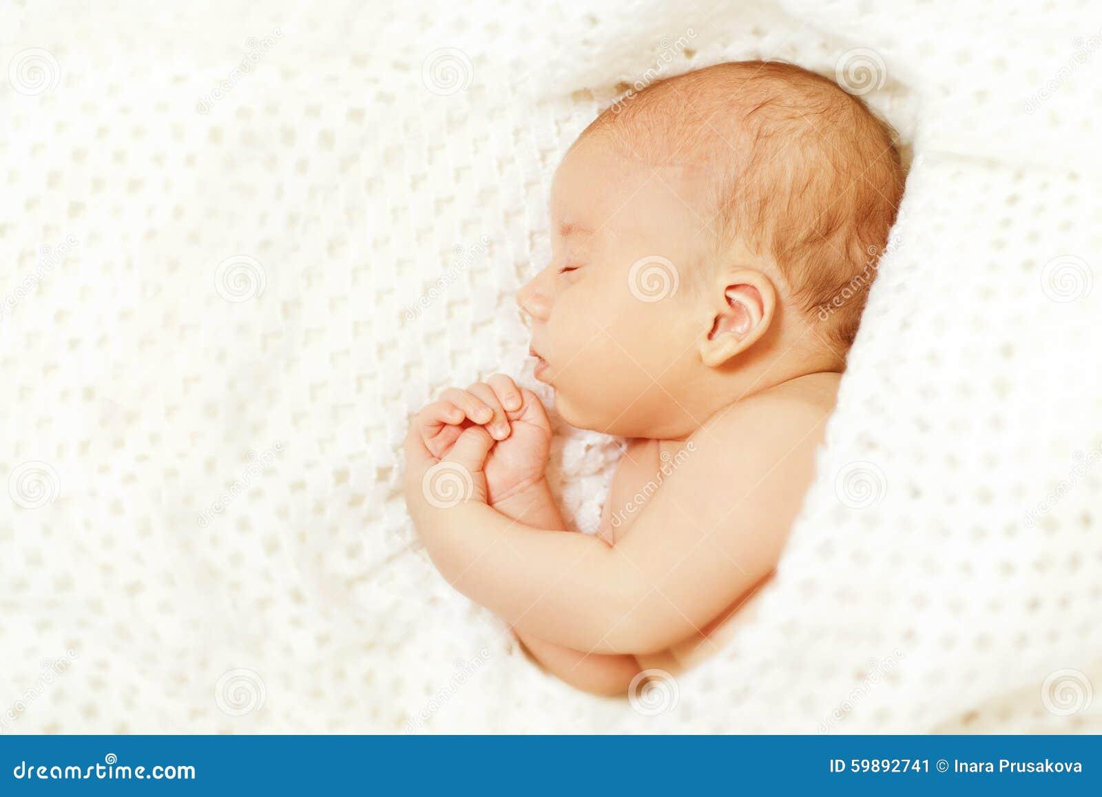 Baby Sleep, New Born Kid Asleep, Newborn Boy Sleeping