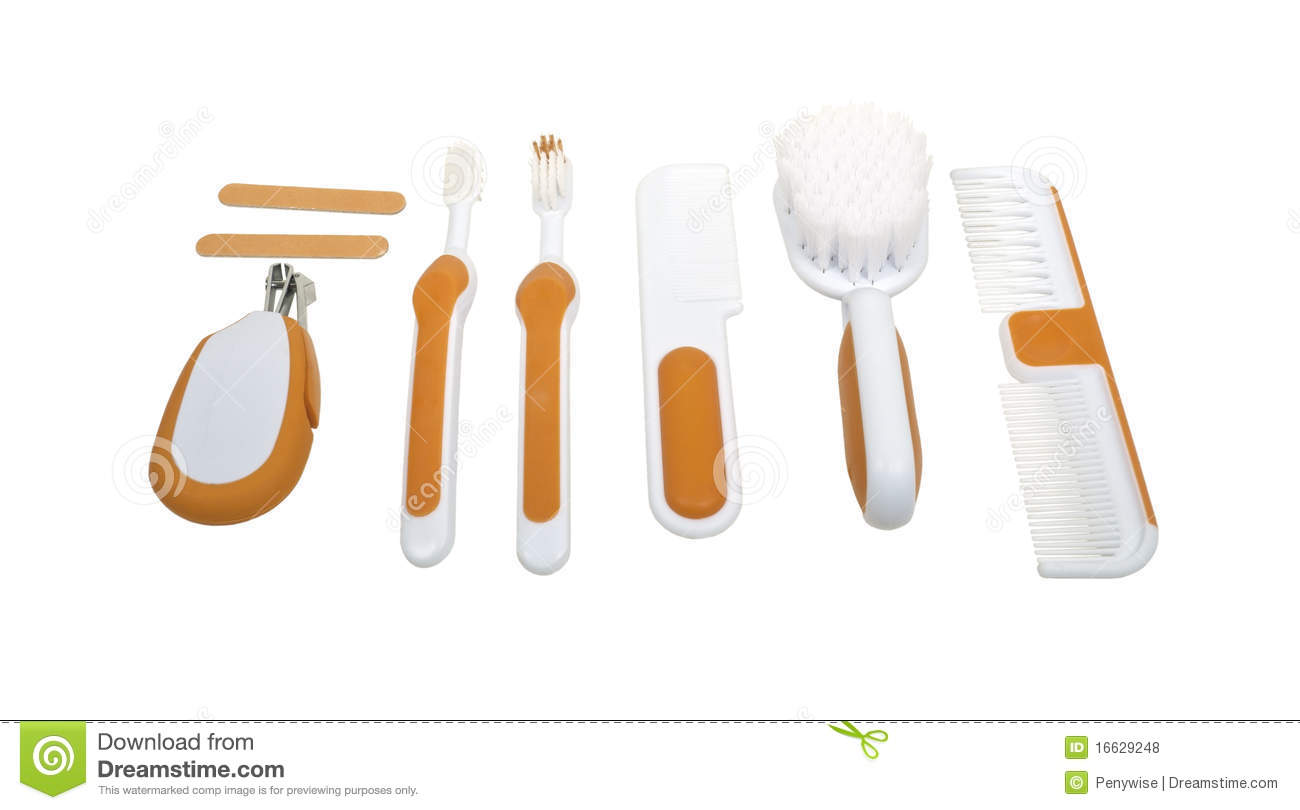 Baby Toiletry Items Royalty Free Stock Photos - Image: 16629248