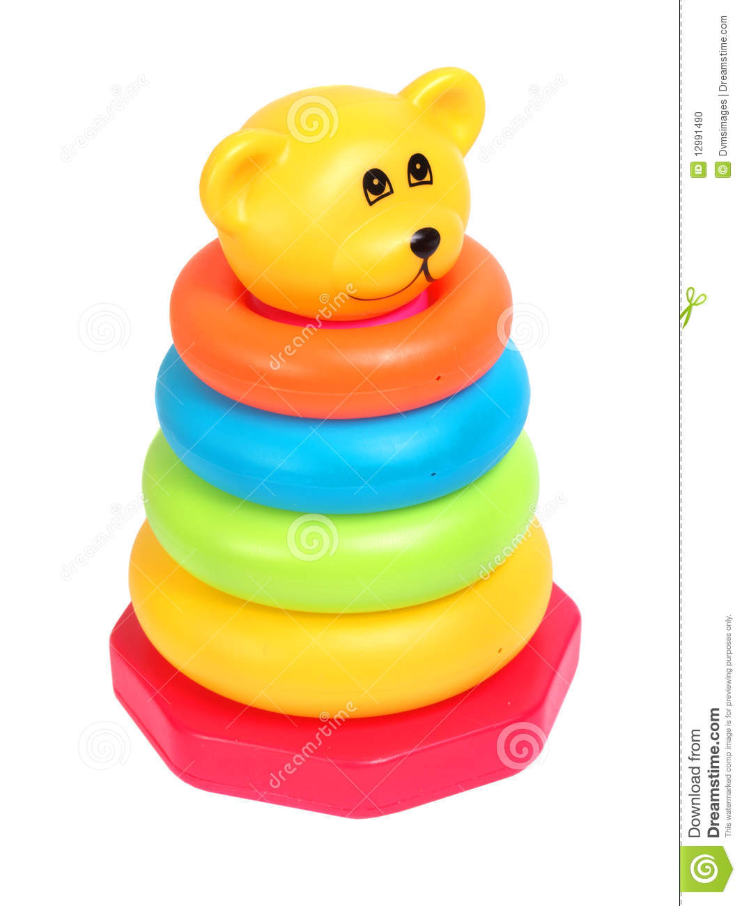 Toddler Toys Photography : Baby toy stock photo image of colorful rings hoops