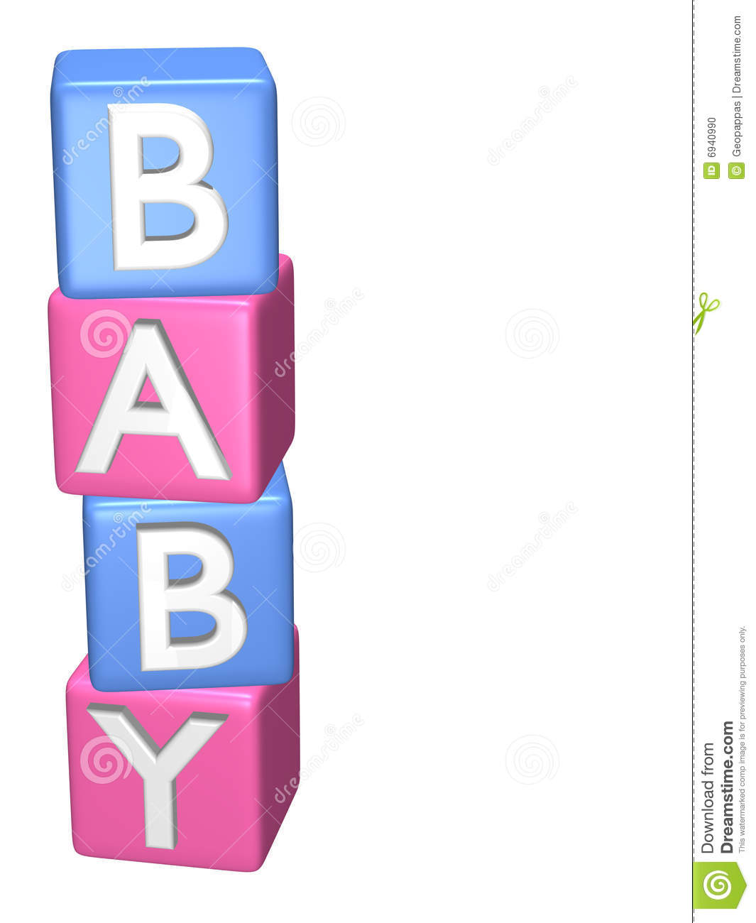 Baby Blocks Toys : Baby toy building blocks stock photo image