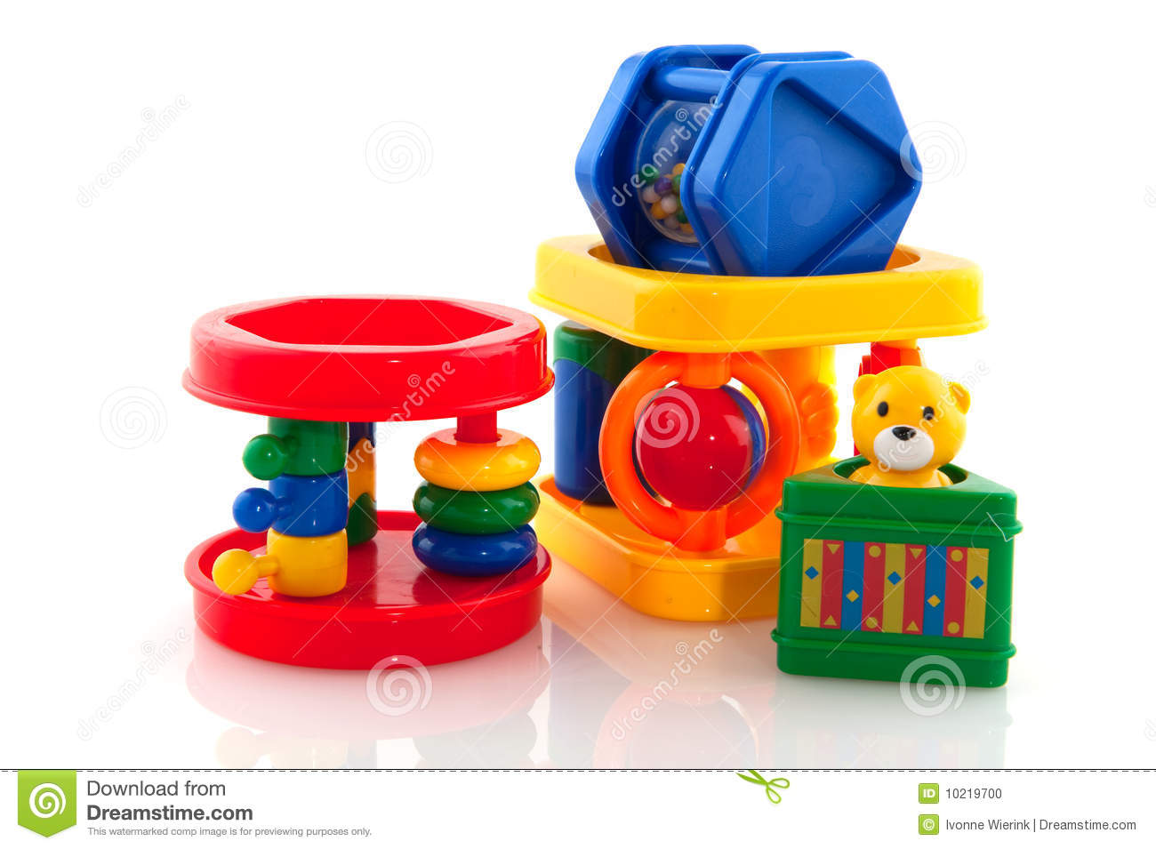 Toddler Toys Photography : Baby toys stock photo image of blue bear babytoys