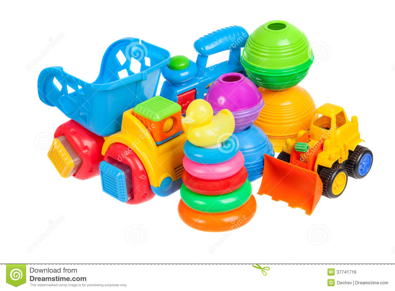 Baby toys collection