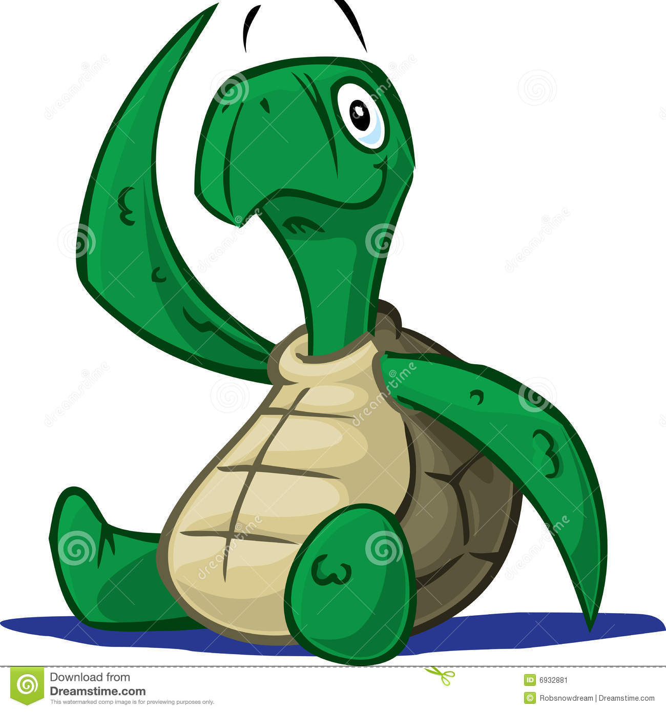 Baby Turtle Stock Vector Illustration Of Characters Cartoon
