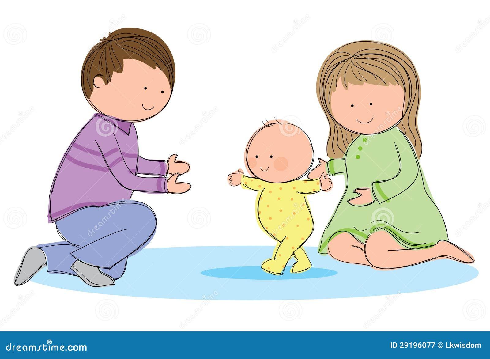 Baby Walking Royalty Free Stock Photography - Image: 29196077