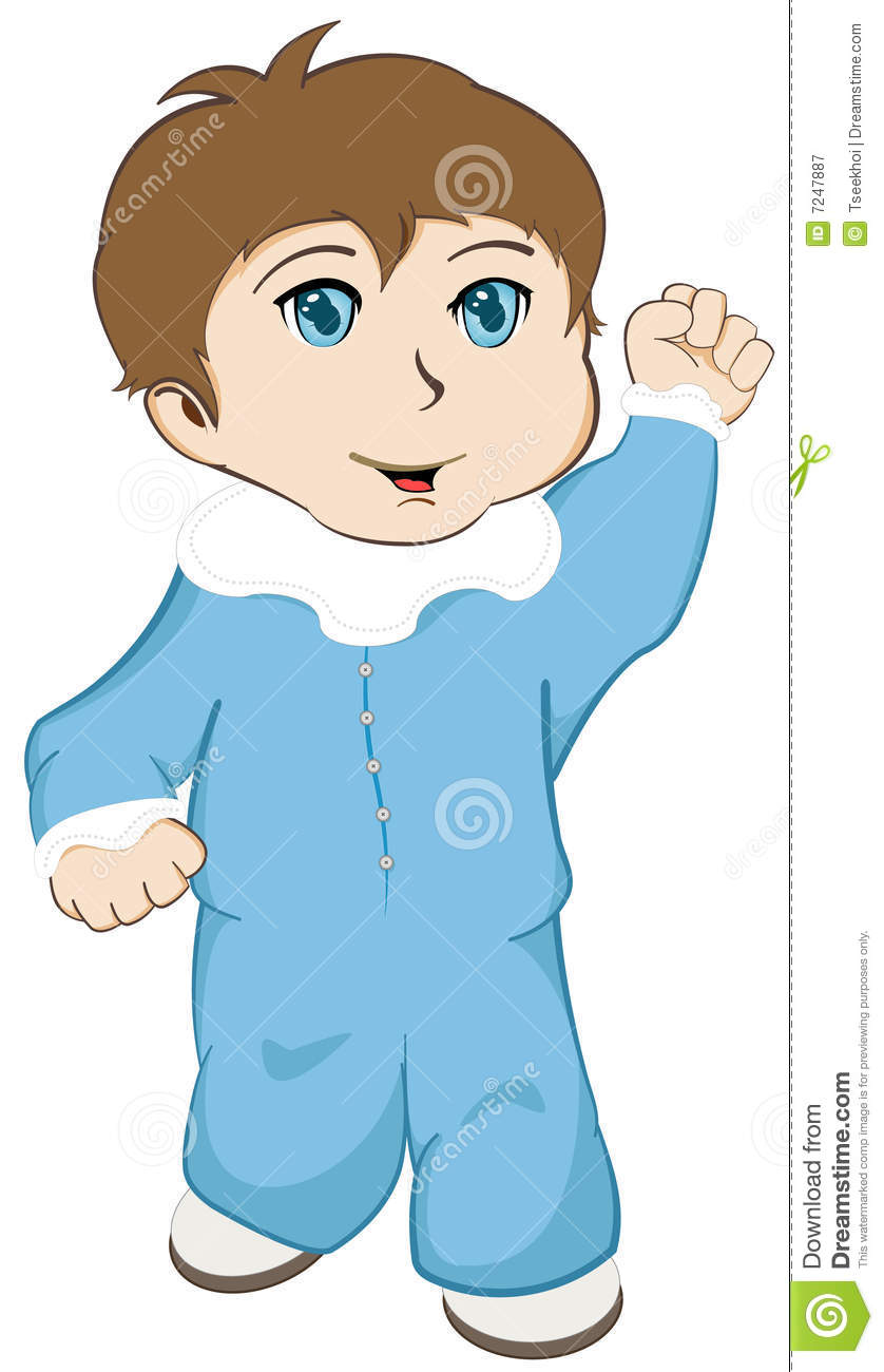 Baby Walking stock vector. Illustration of happy, toddler ...