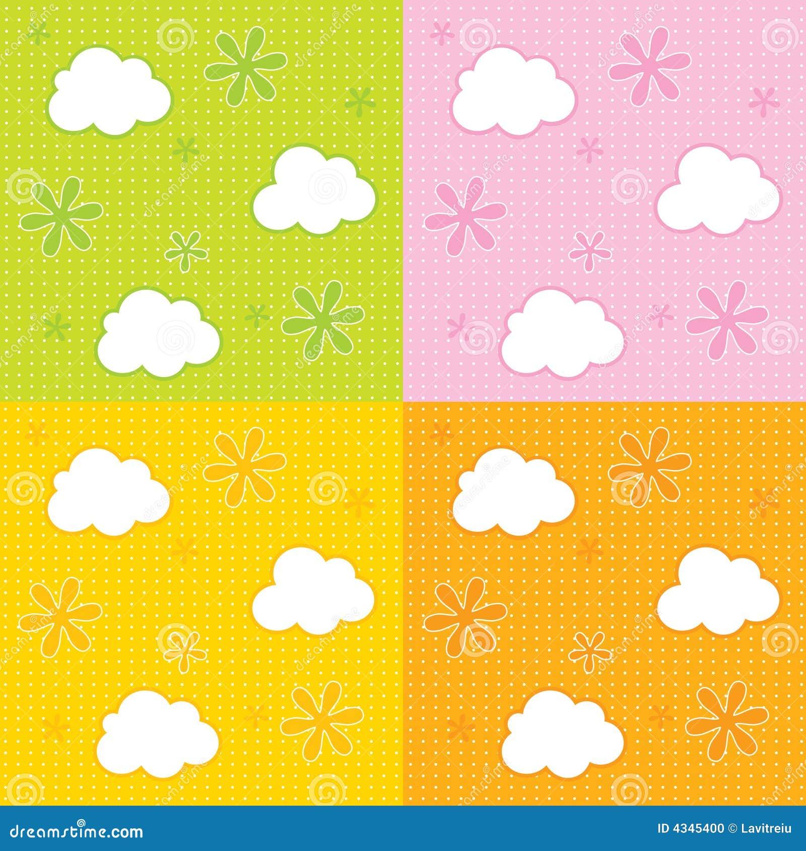 baby wallpaper background stock vector. illustration of children