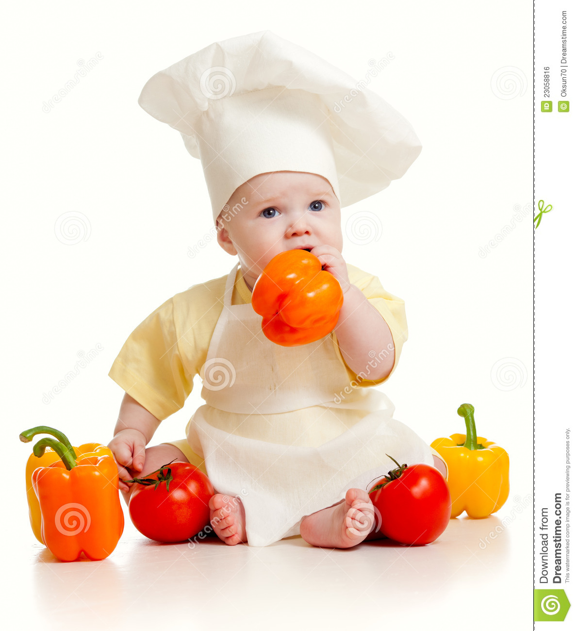 Red Pepper Baby Food