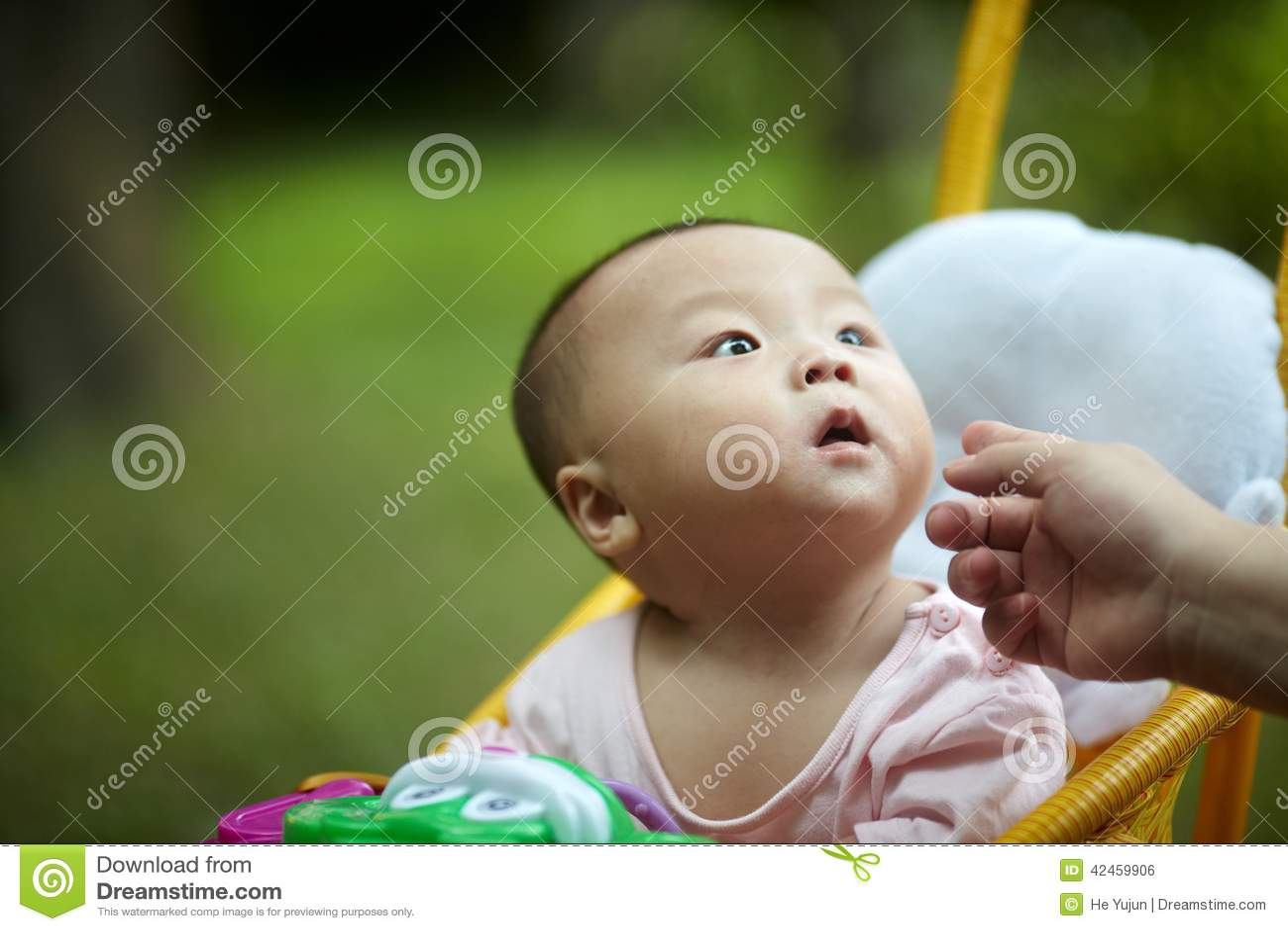 Babyblick weg