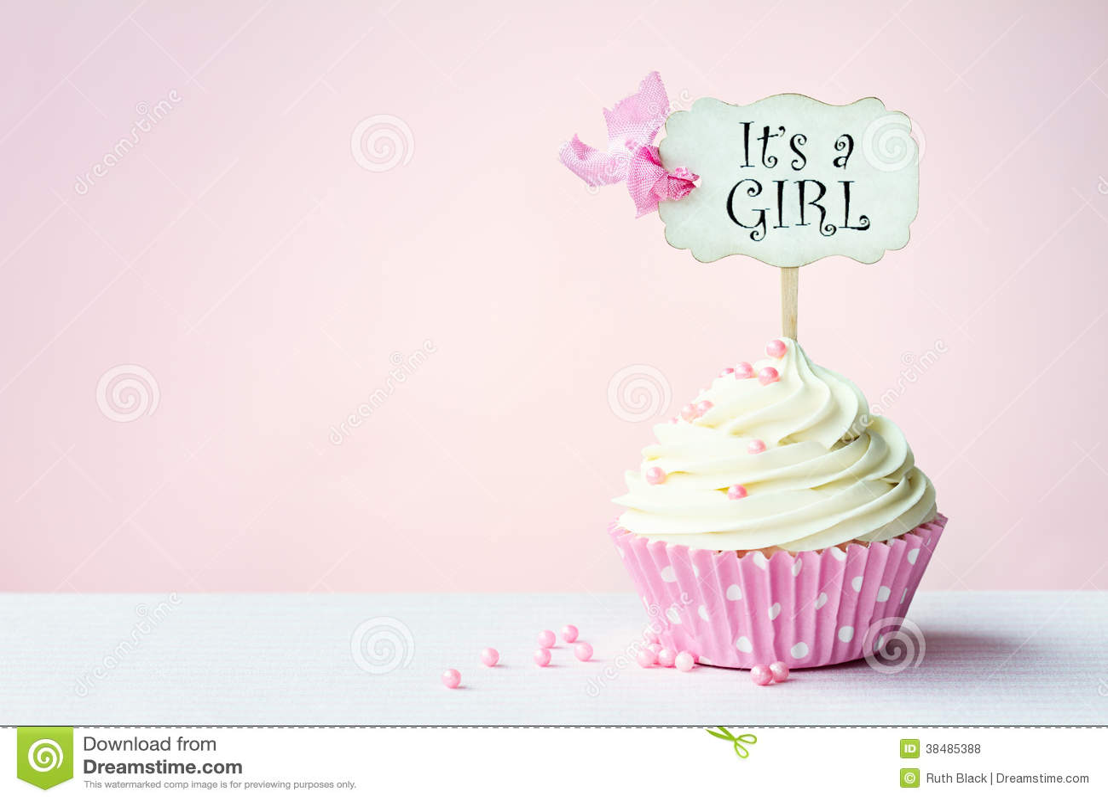 Babydouche cupcake