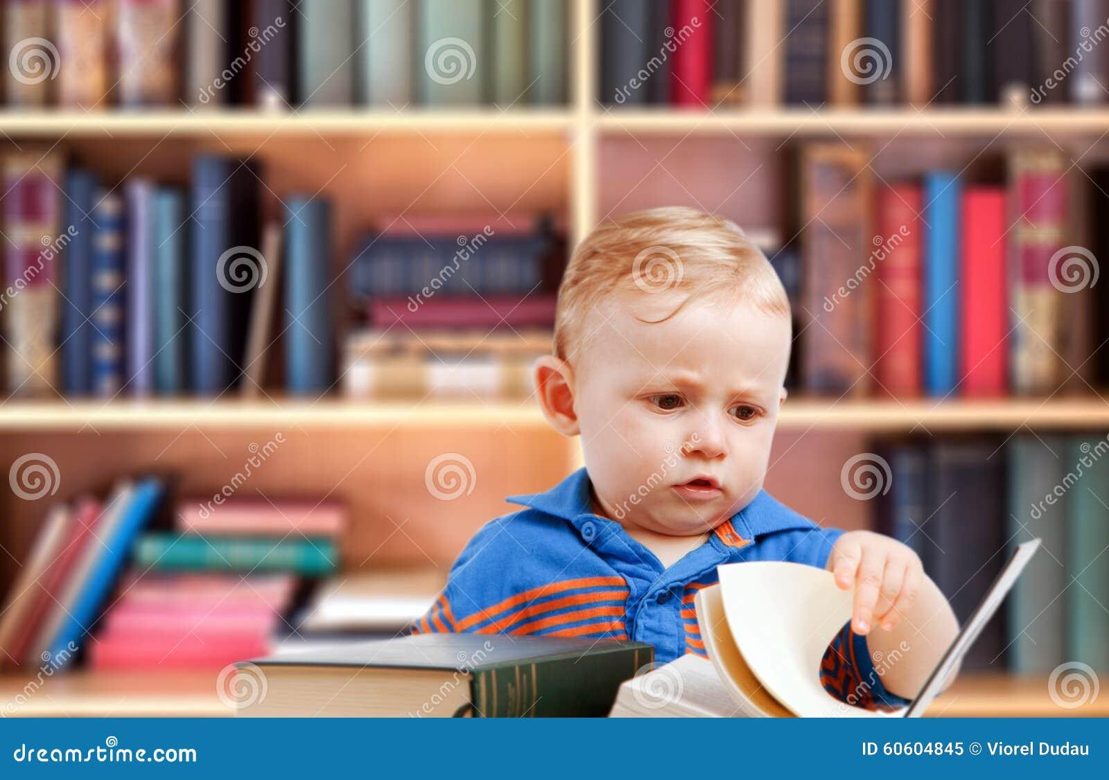 Babylezing in bibliotheek