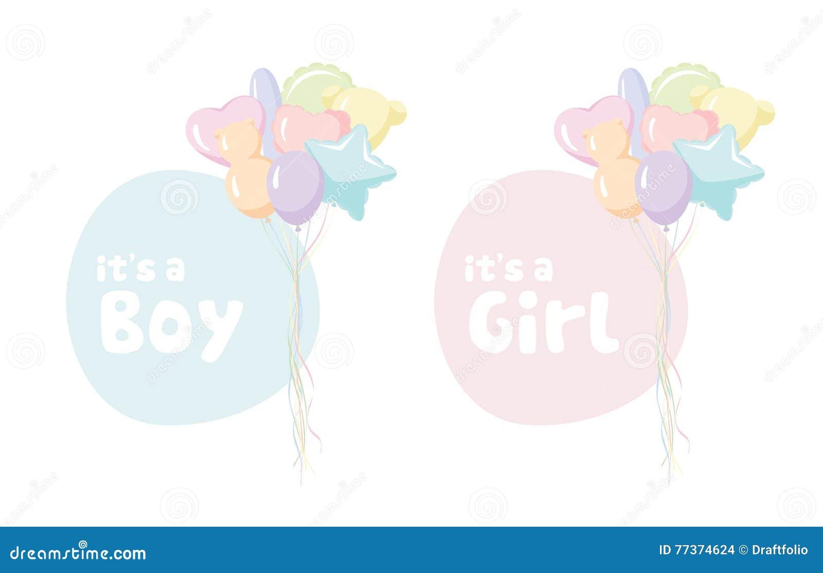 Babyparty Einladung Vektor Abbildung