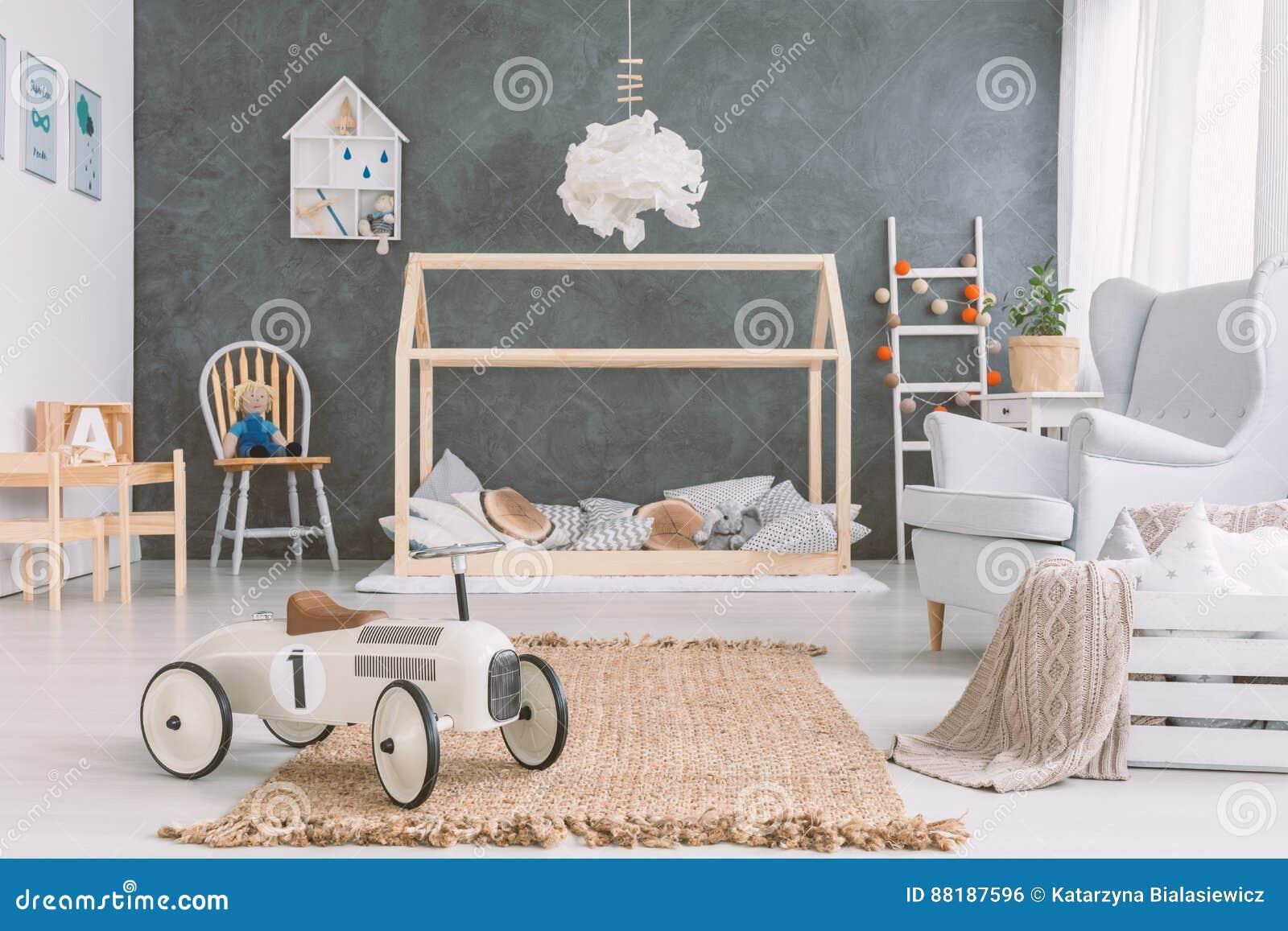 Babyruimte in Skandinavische stijl
