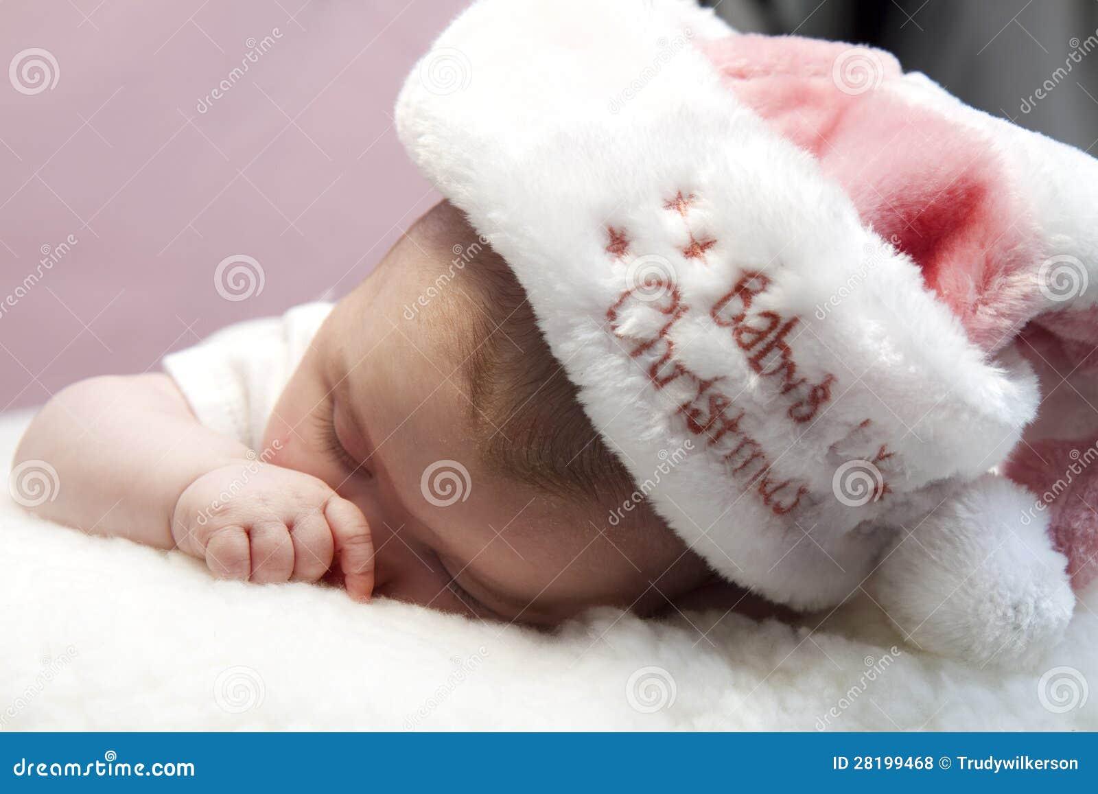Babys первое Кристмас