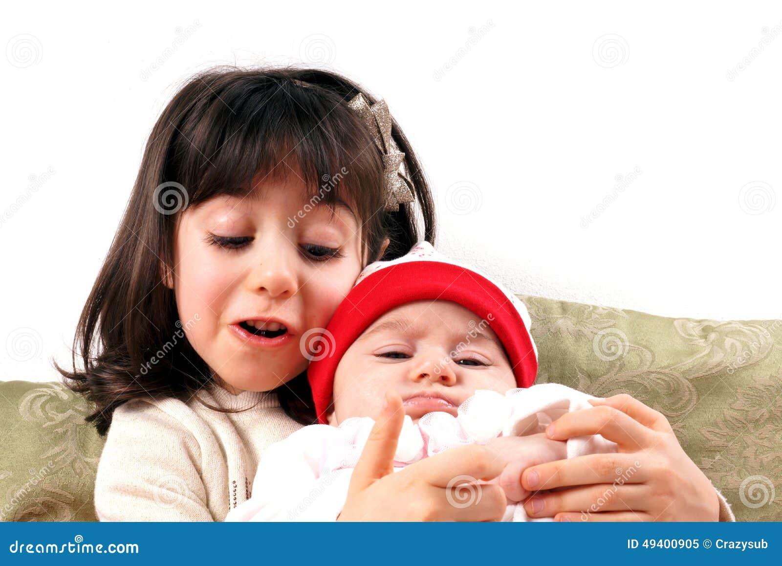 Download Babys stockbild. Bild von schön, lustig, adorable, zicklein - 49400905