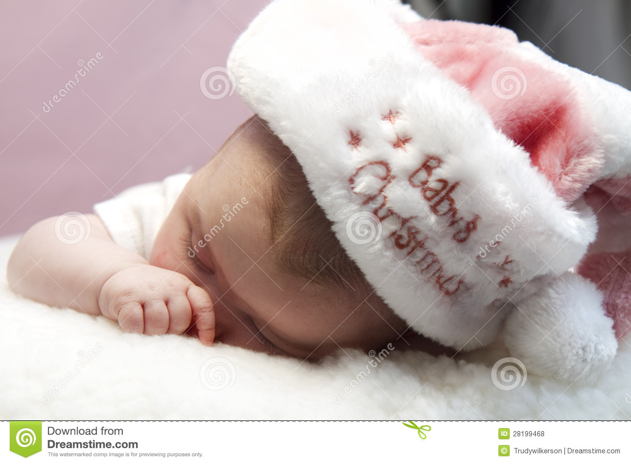 Babys First Christmas Royalty Free Stock Photos - Image: 28199468