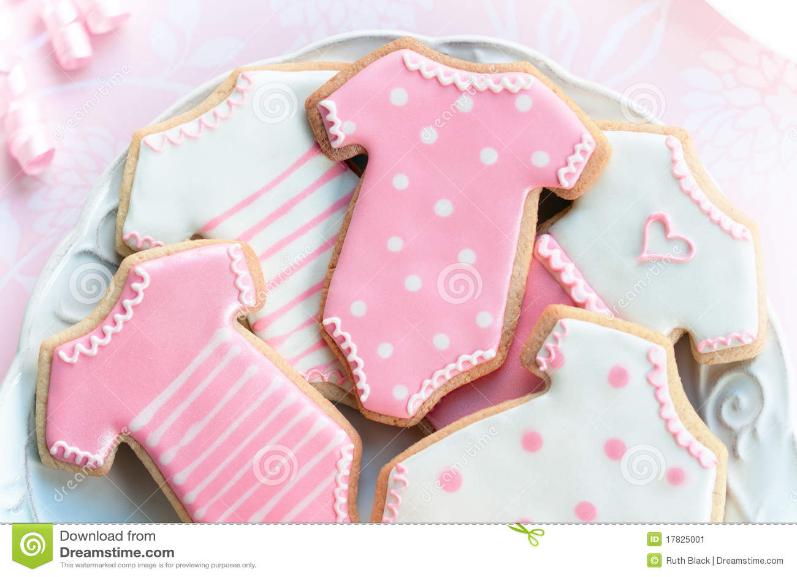 Babyshower Cookies Stock Image Image Of Birthday Pale 17825001