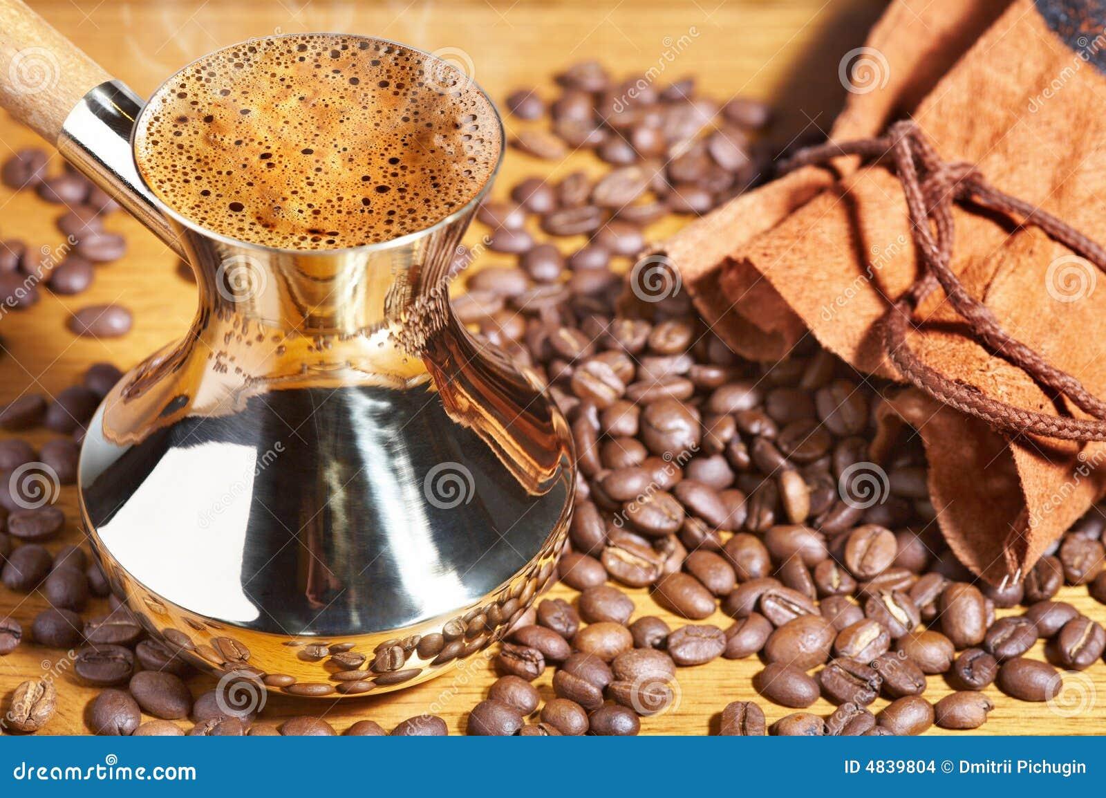Bac de café turc