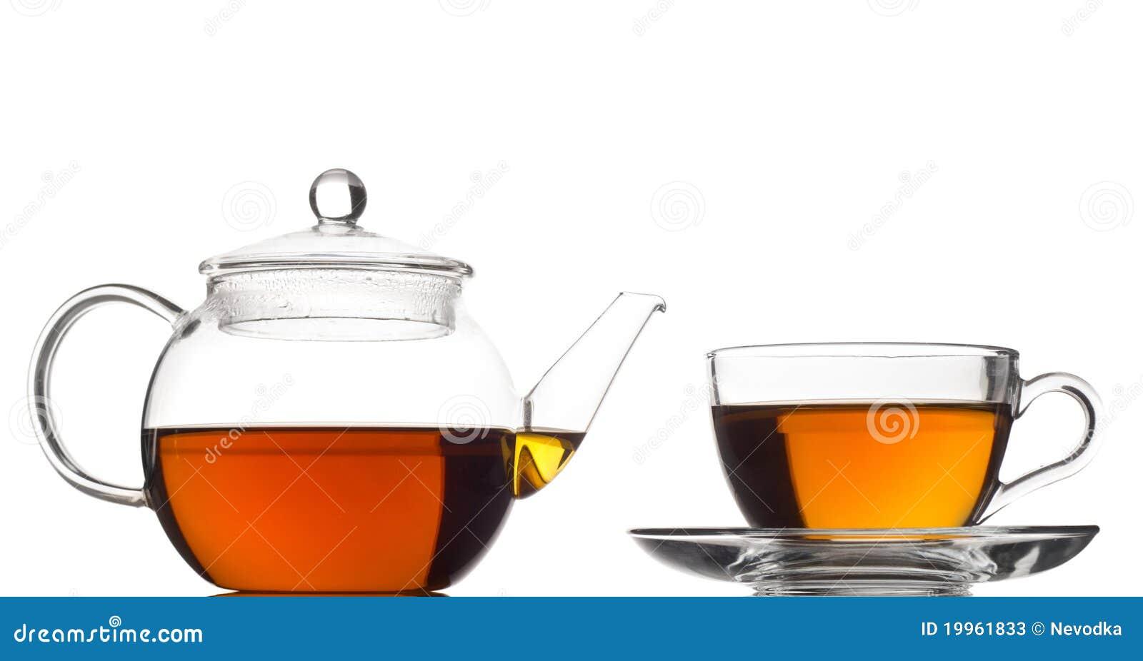 Bac et cuvette de thé