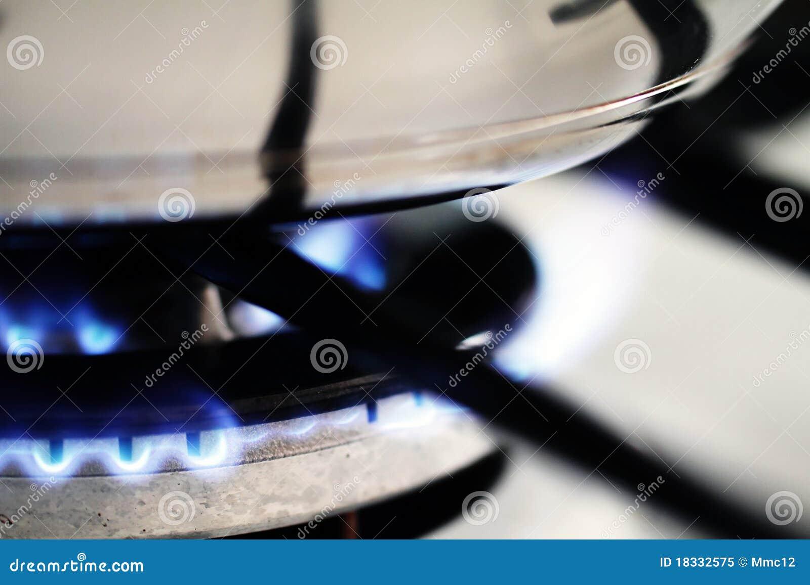 Bac sur le gaz