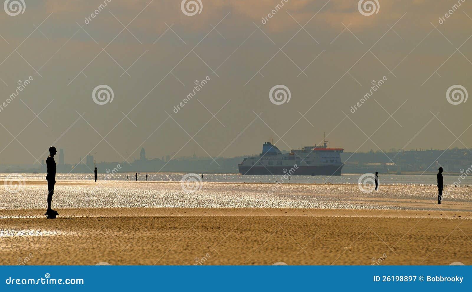 Bac sur le Mersey
