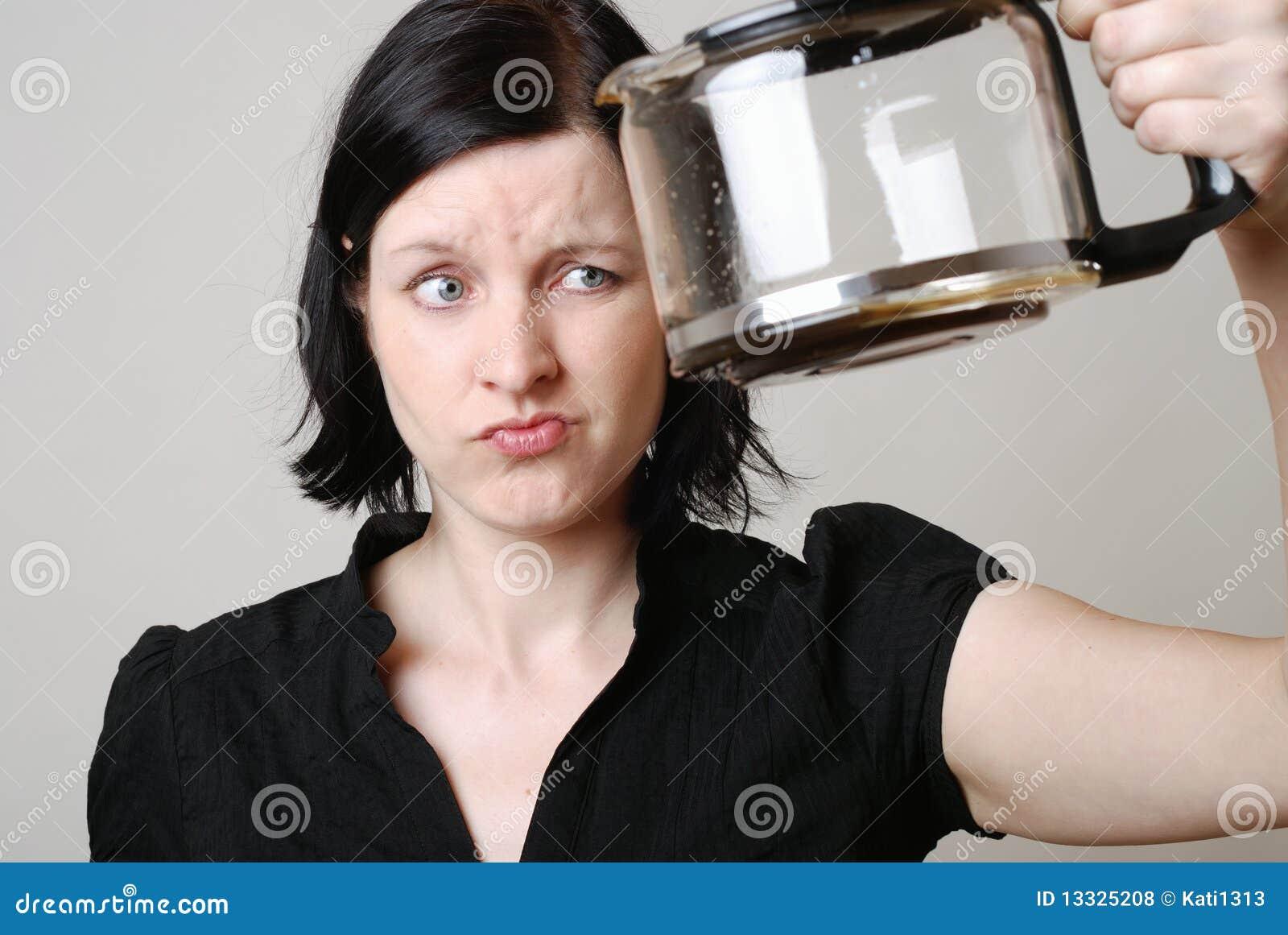 Bac vide de café