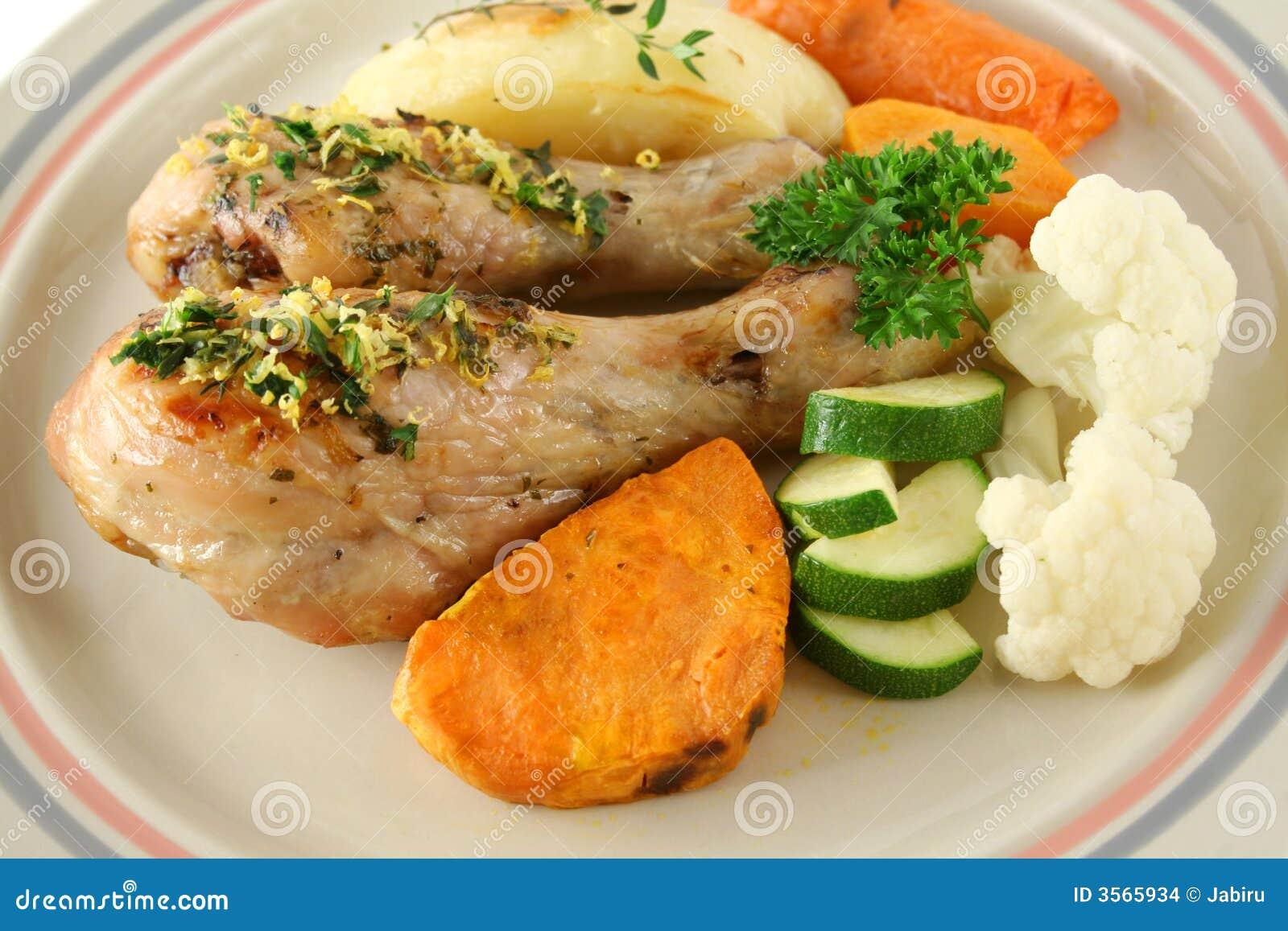 Bacchette di pollo