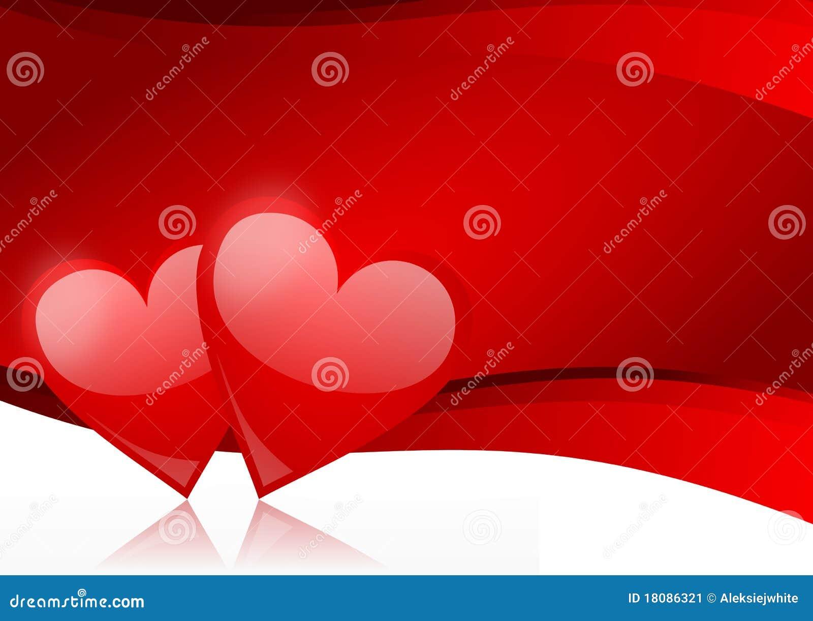 Bacground de las tarjetas del día de San Valentín