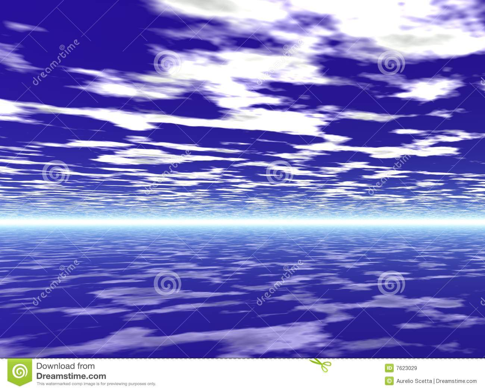 Bachground天空