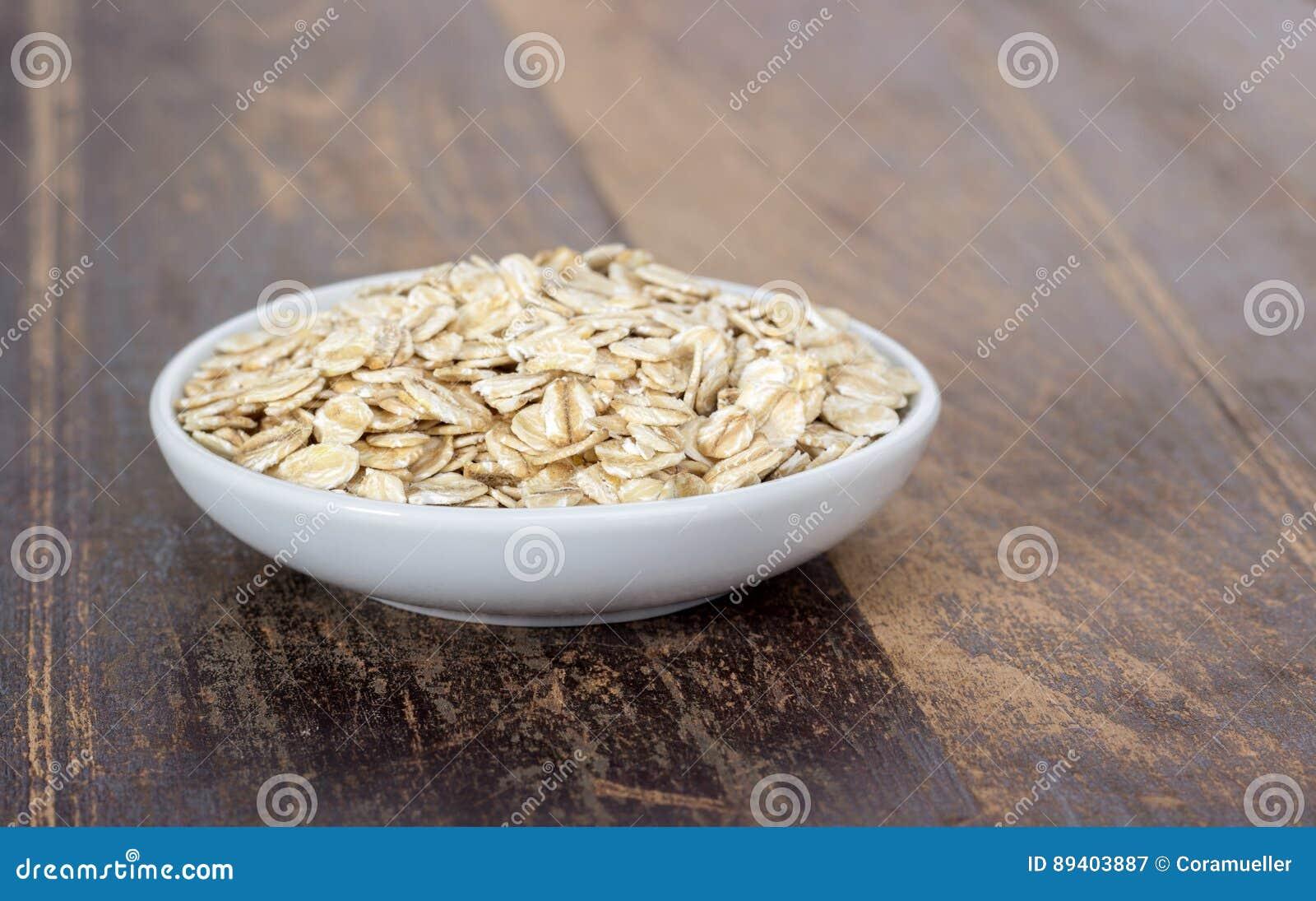 Bacia com oatmeal