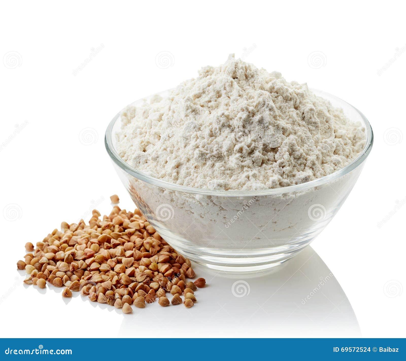 Bacia de farinha do trigo mourisco